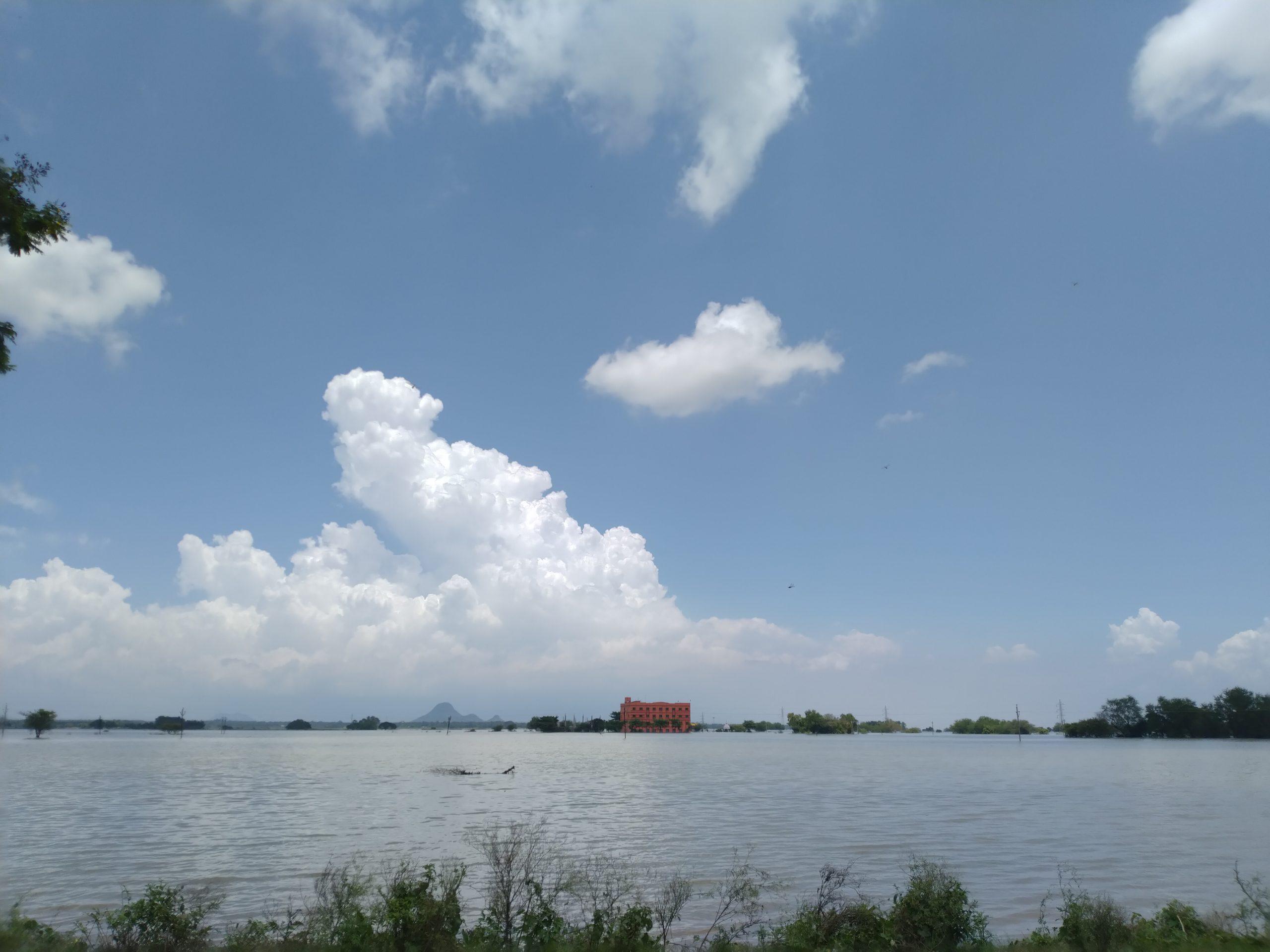 A lake during daytime
