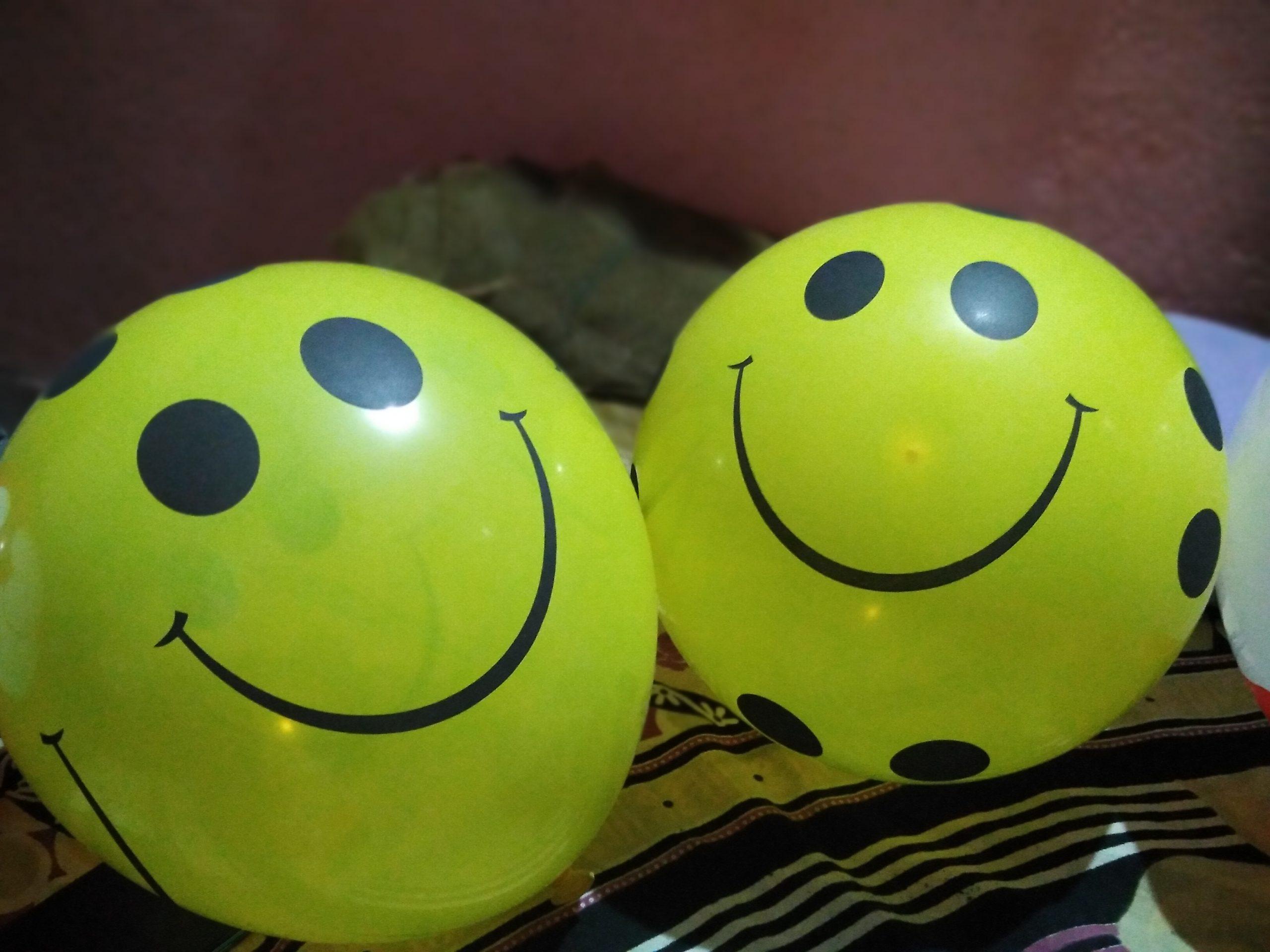 Yellow Smiley Ball
