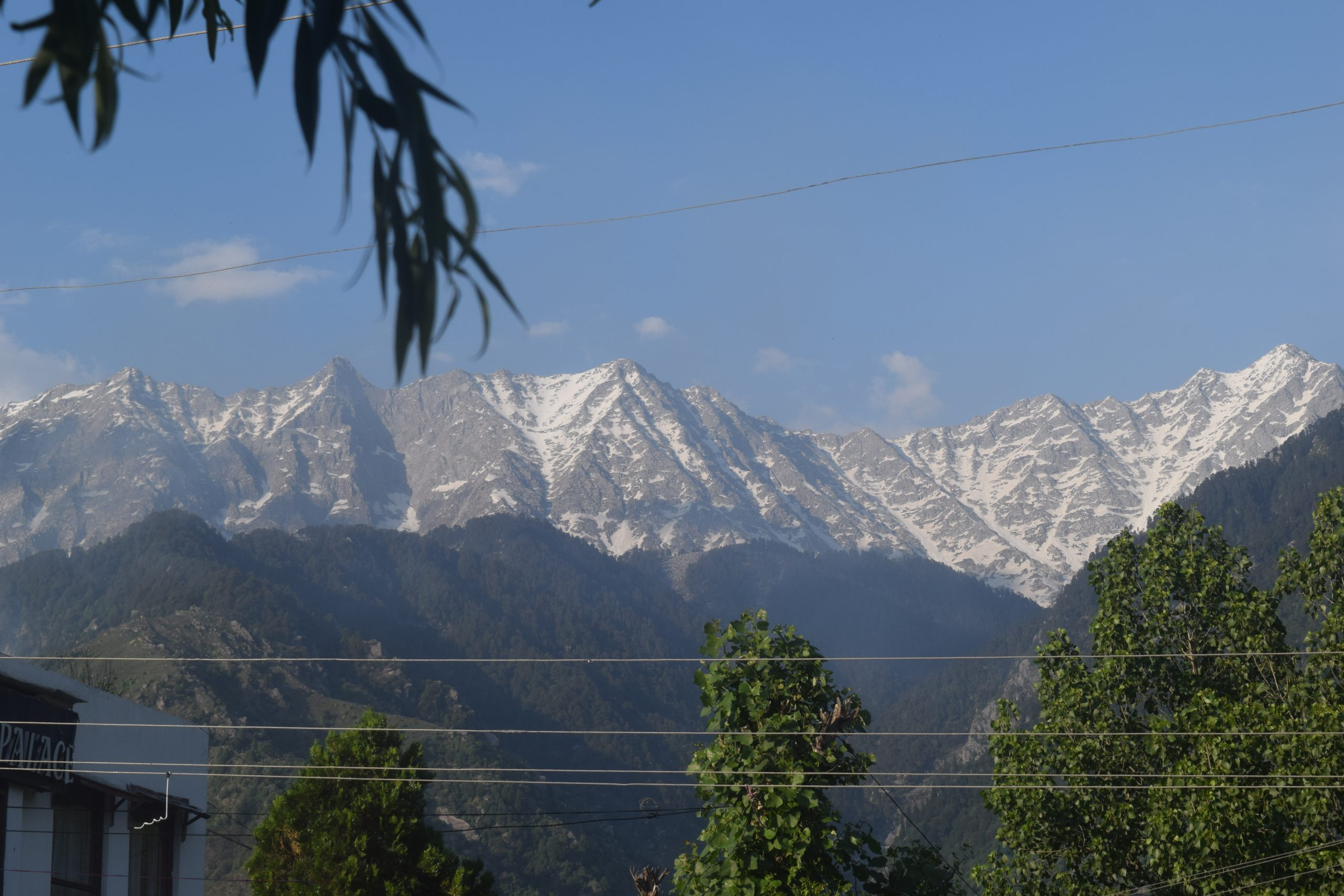 Snowy Mountains Scenery