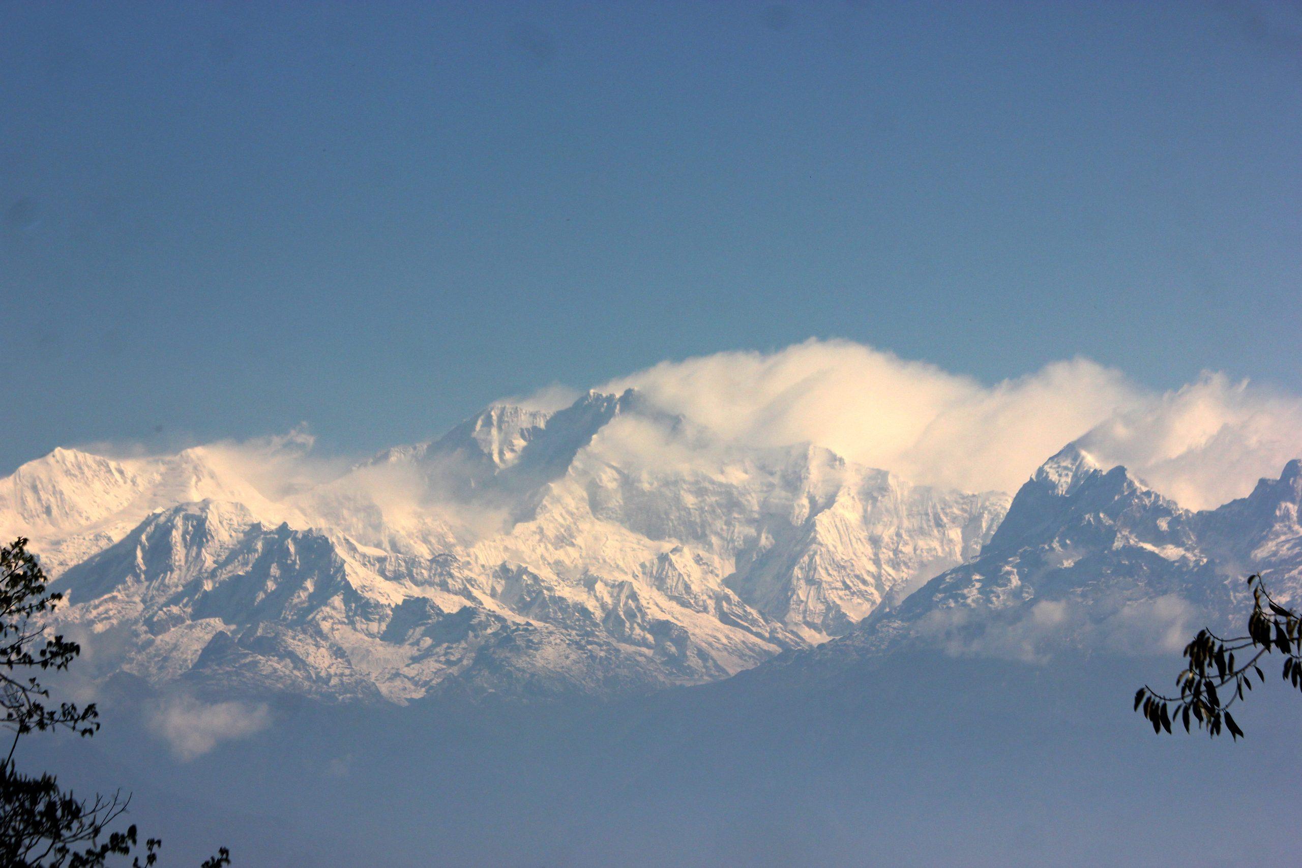 Snowy mountains of Hiamalya