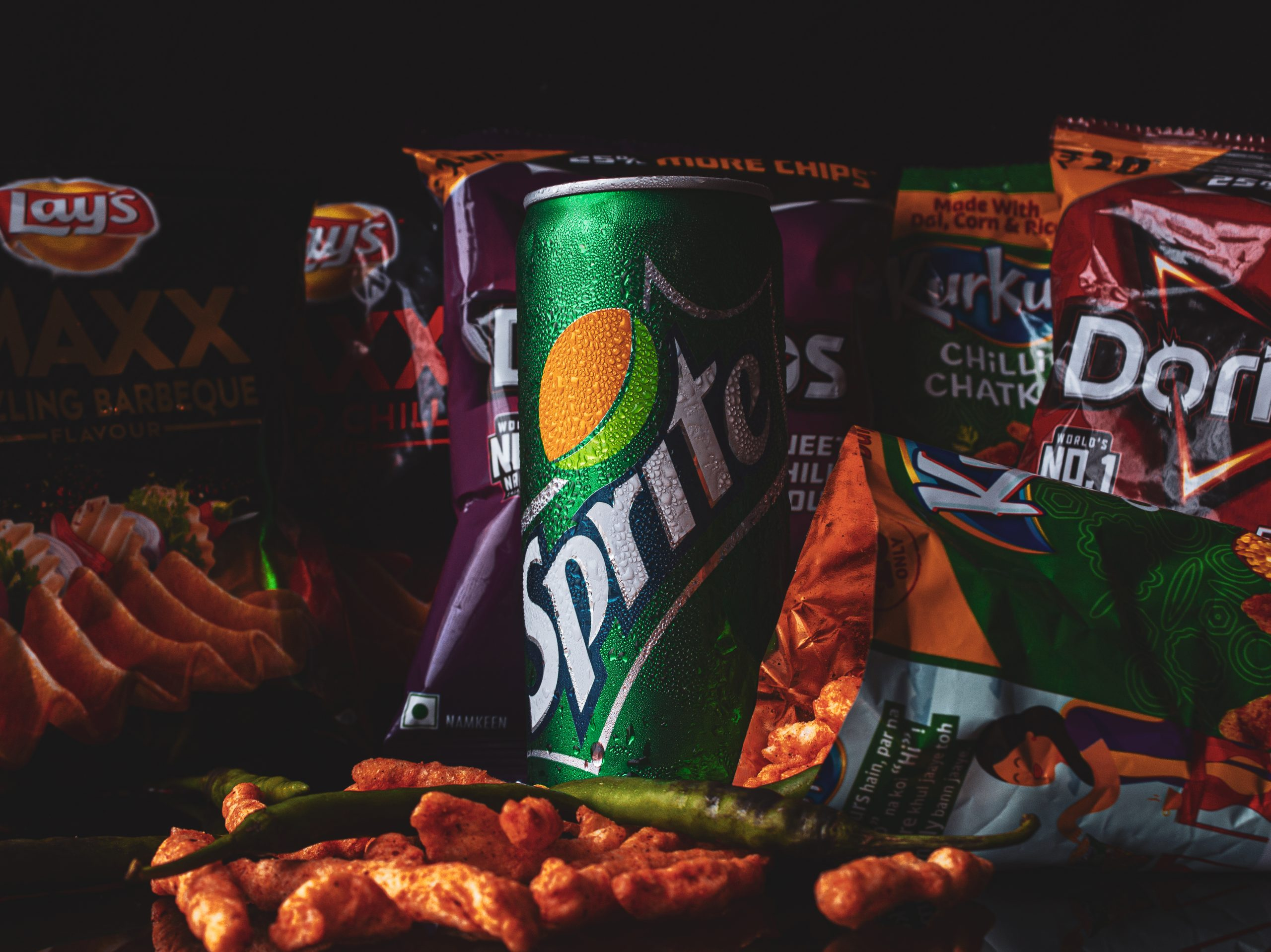 Soft drink and Snacks