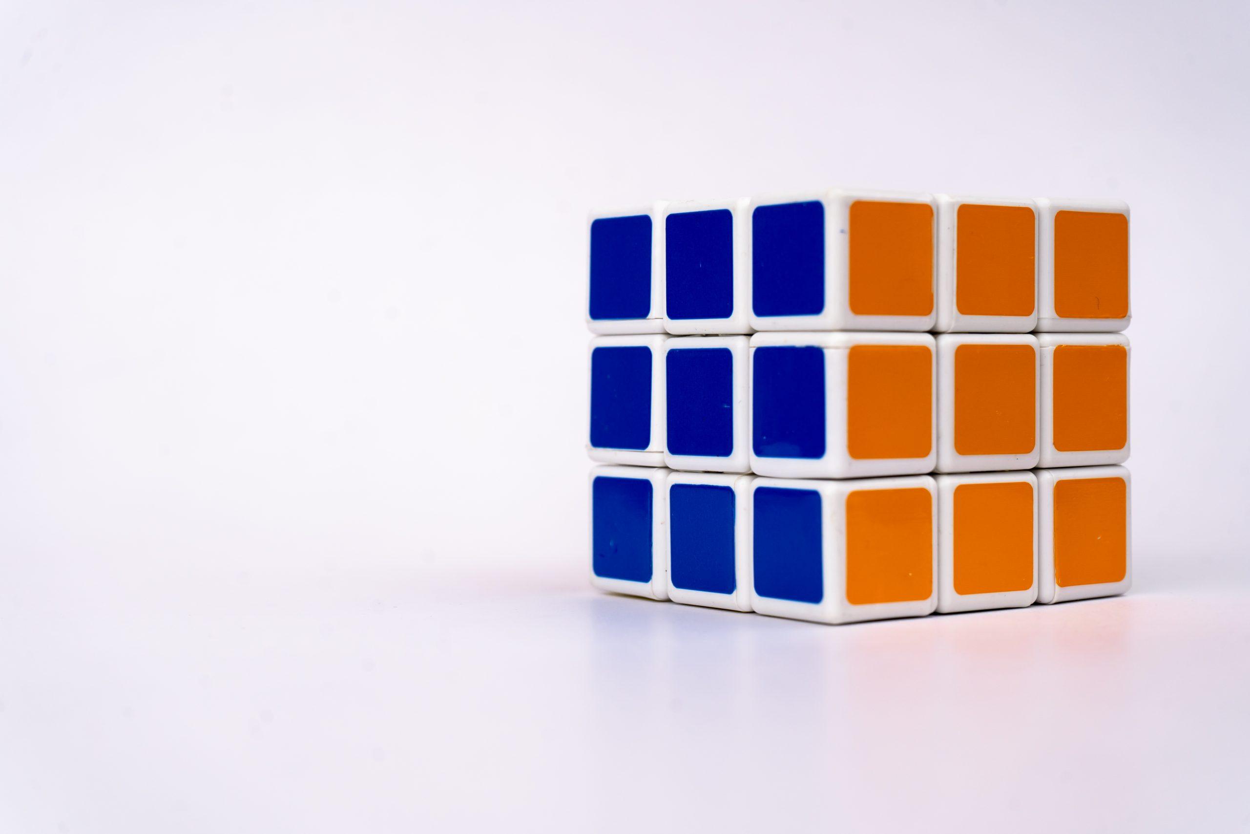 Solved Rubik Cube