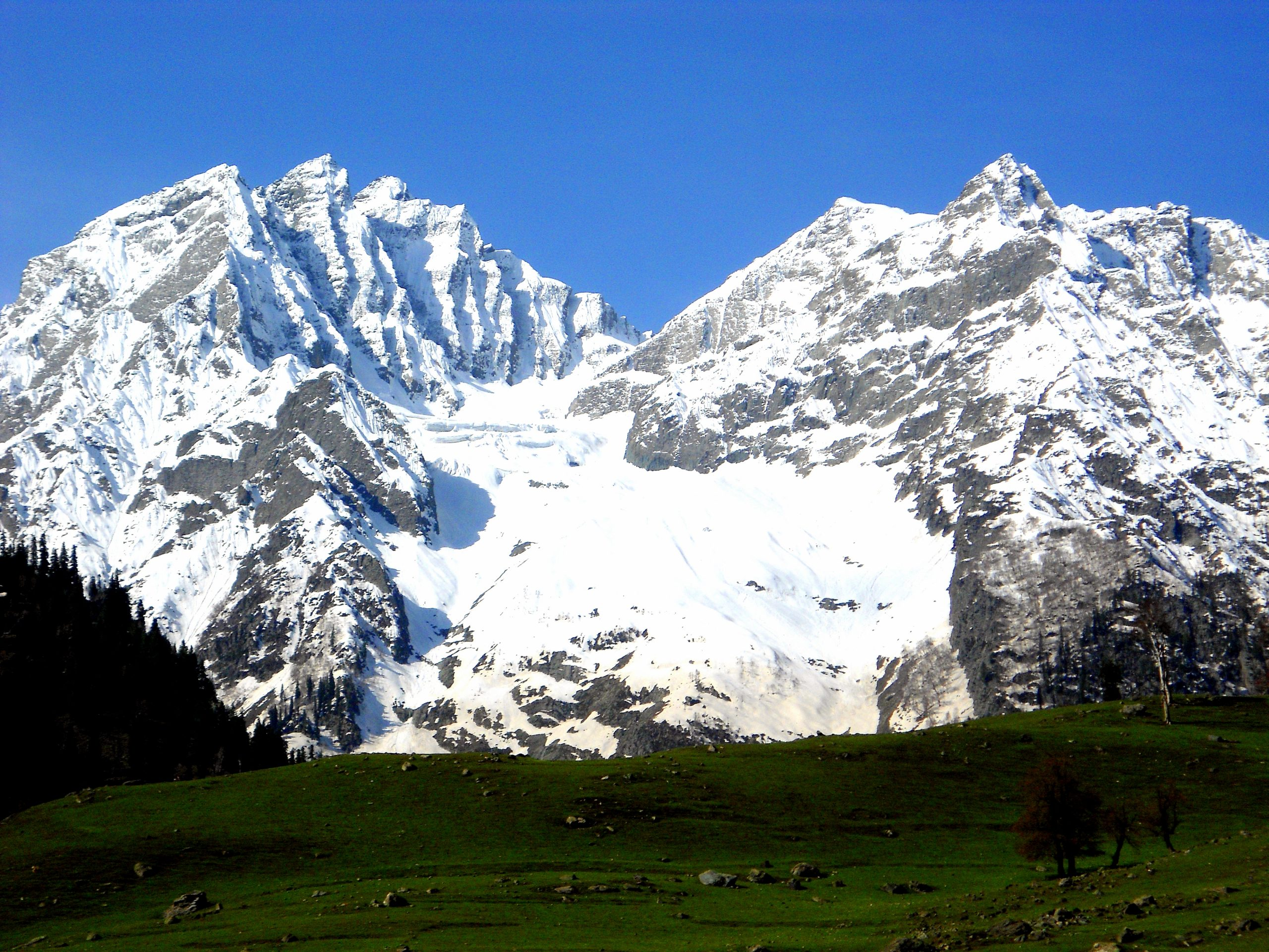 Sonamarg in Indian Union Territory of Jammu and Kashmir