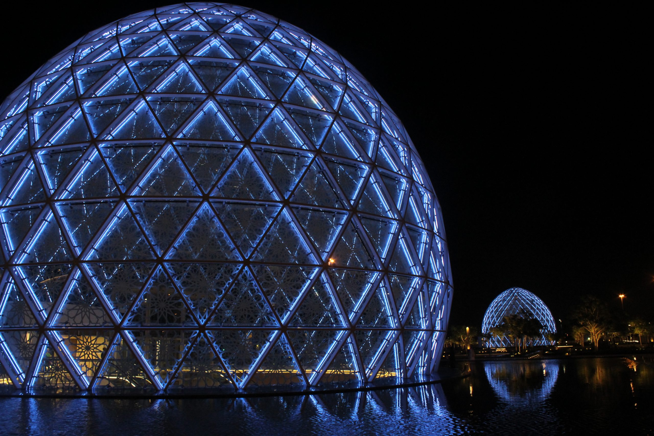 Steel Dome in Abu Dhabi
