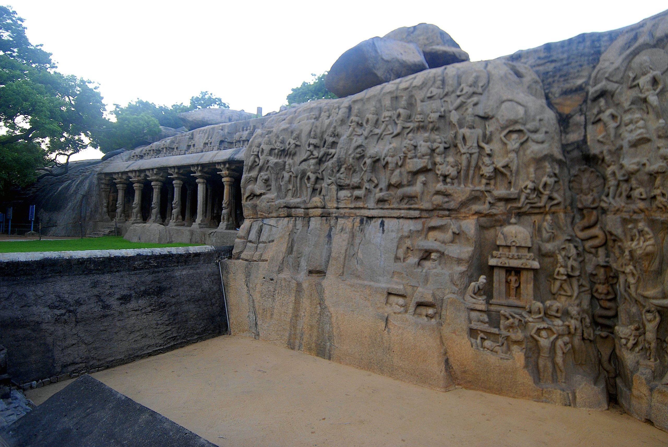 Stone craving of Mahabalipuram