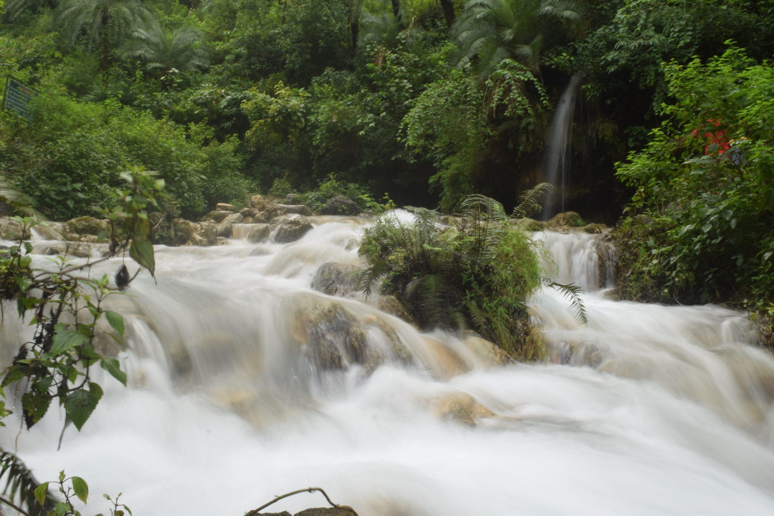 waterbody in hilly region