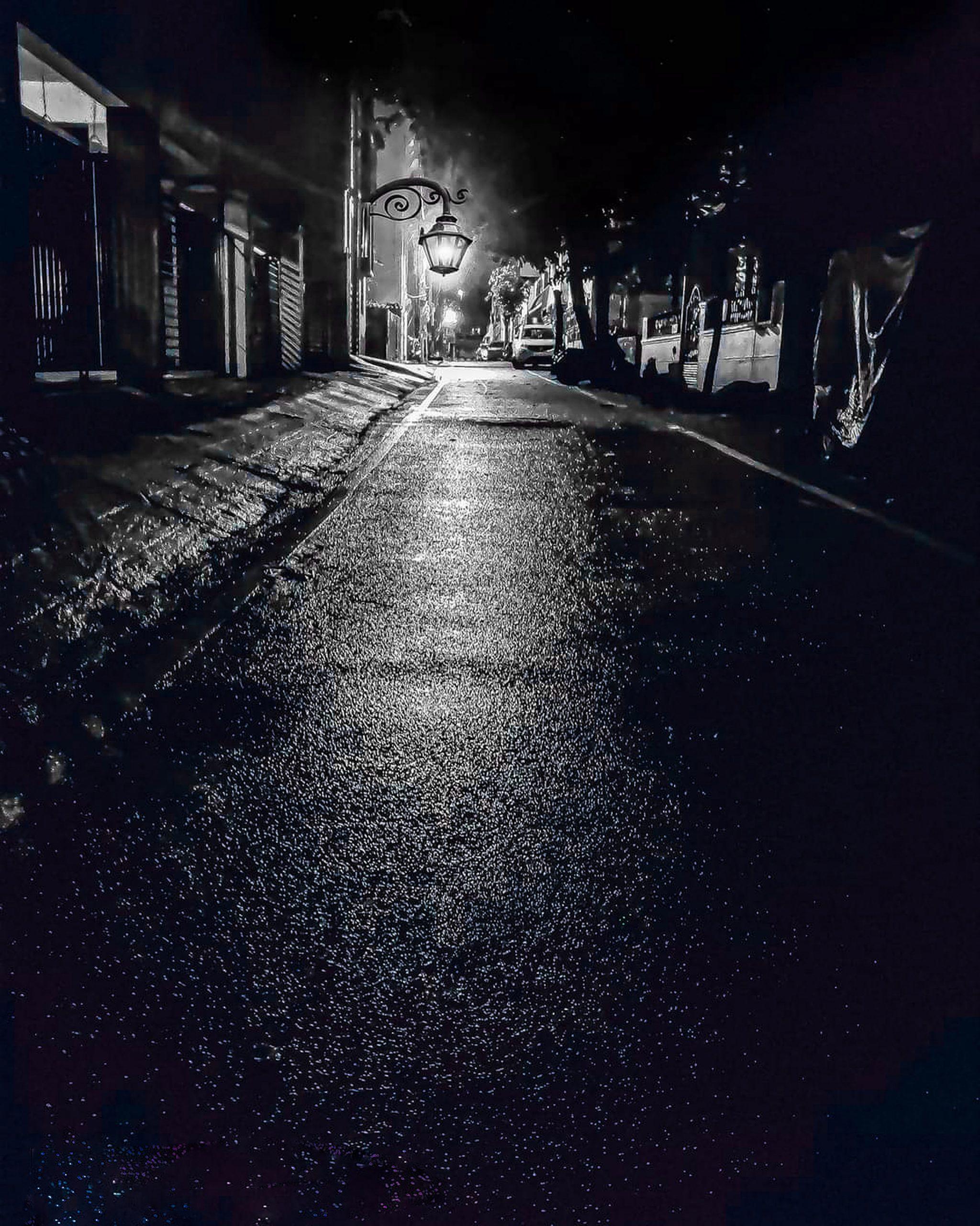 night street view