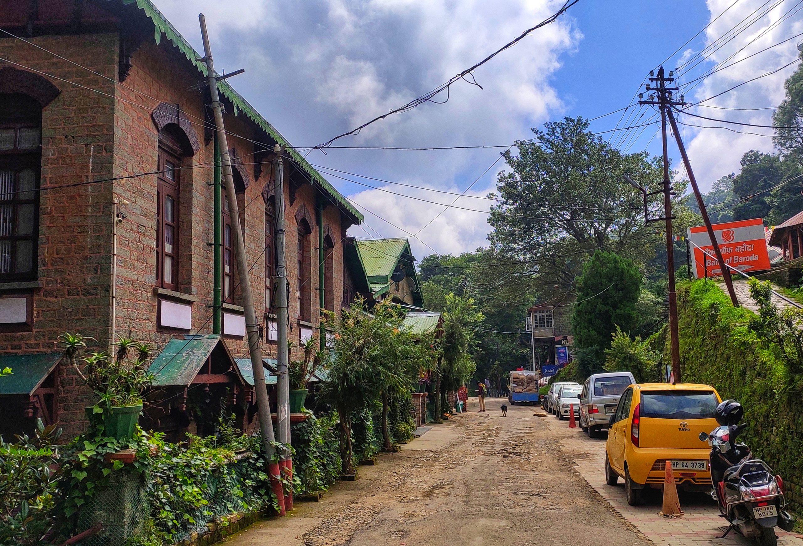 Street of a hill town