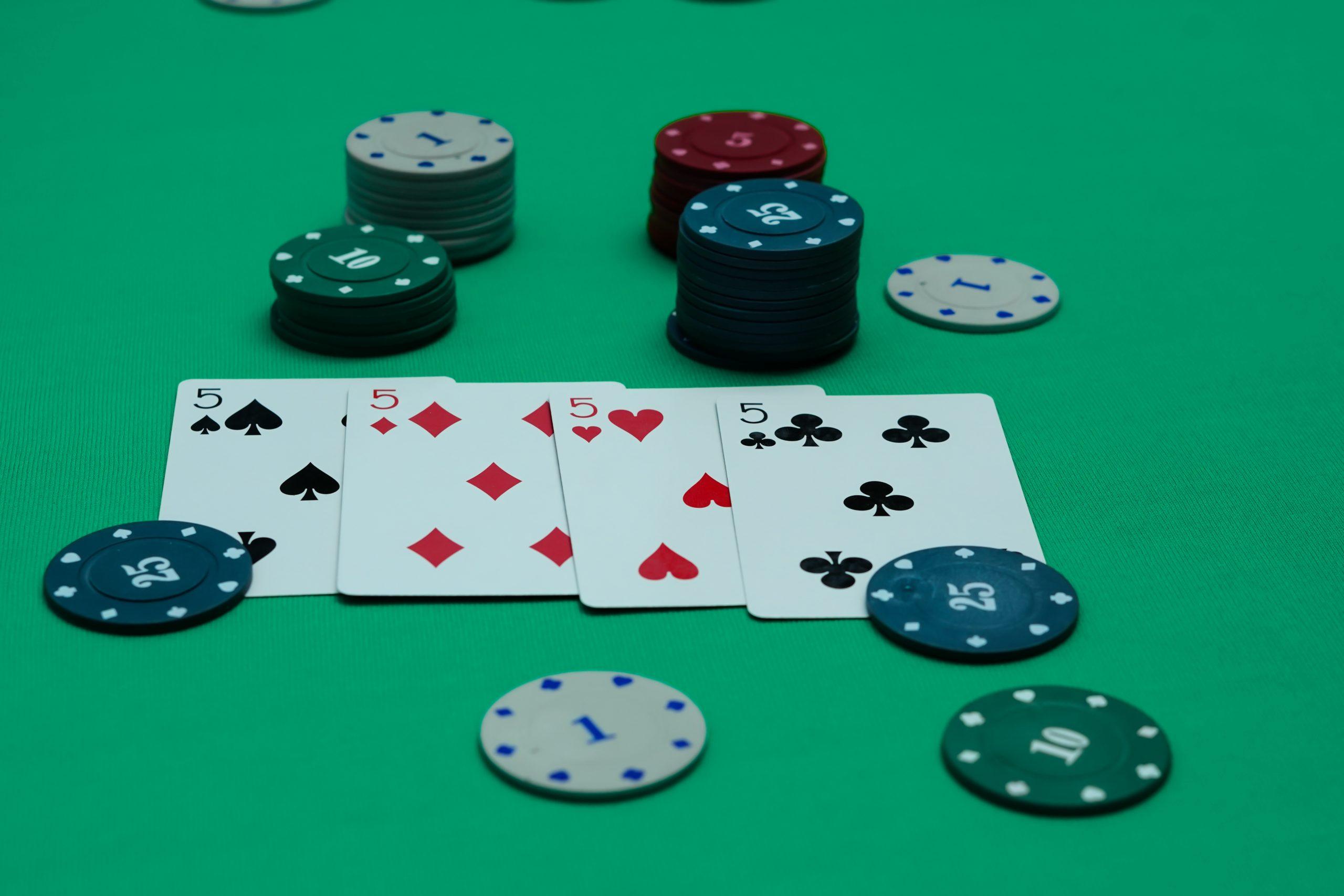 Stud Poker casino game