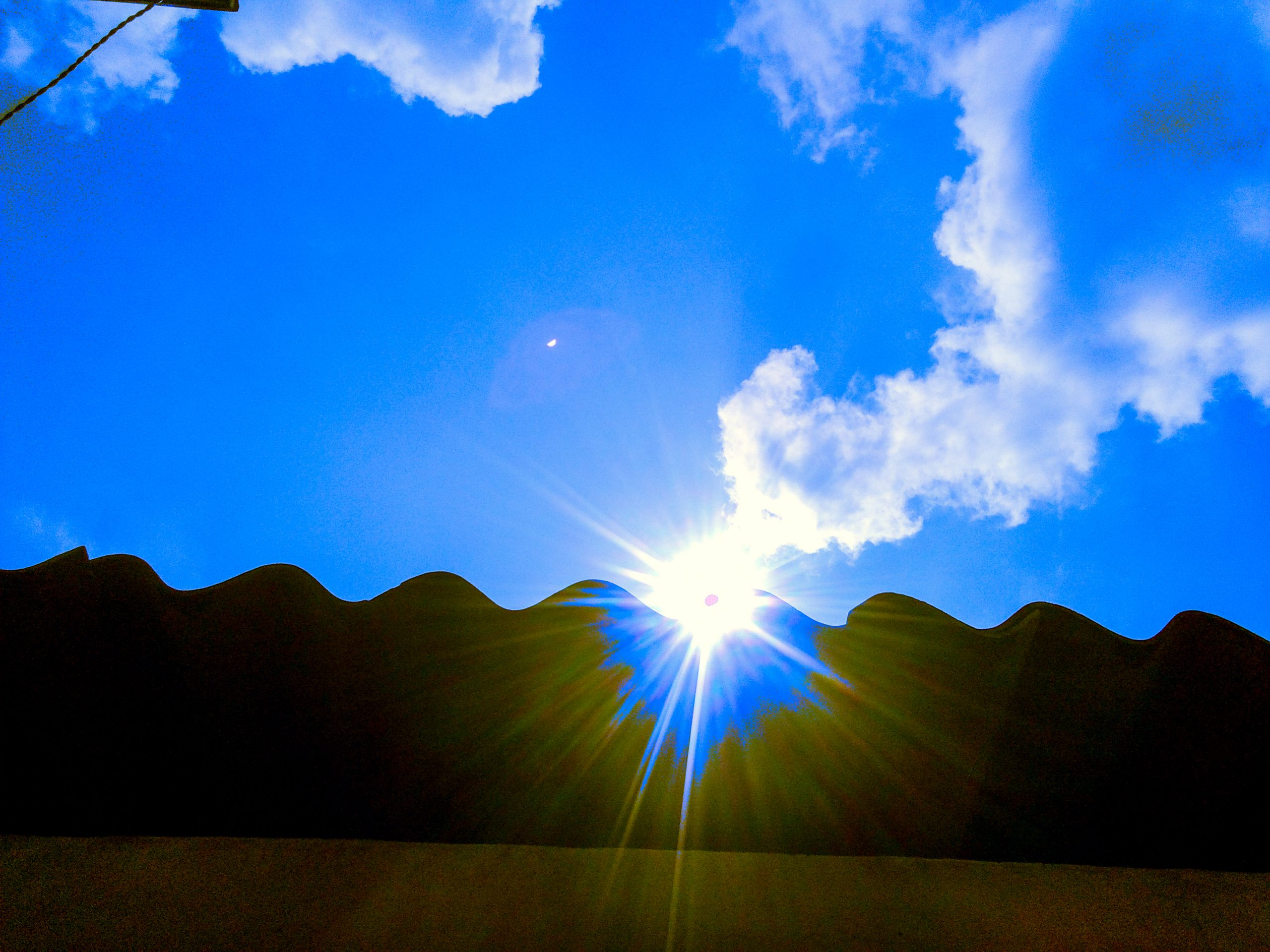 Sunlight over a Roof