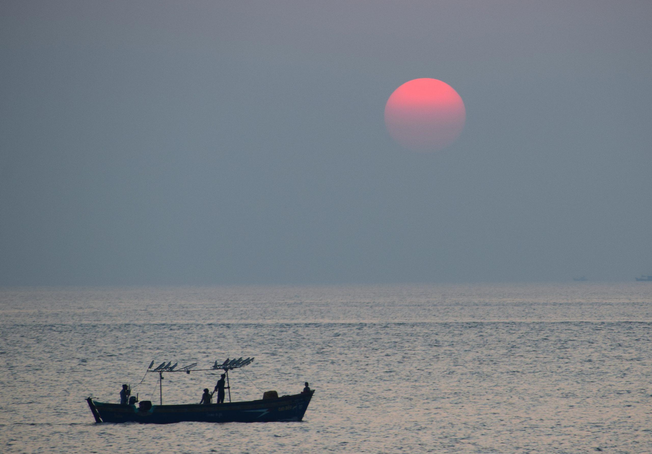 Sunset at Dwarka