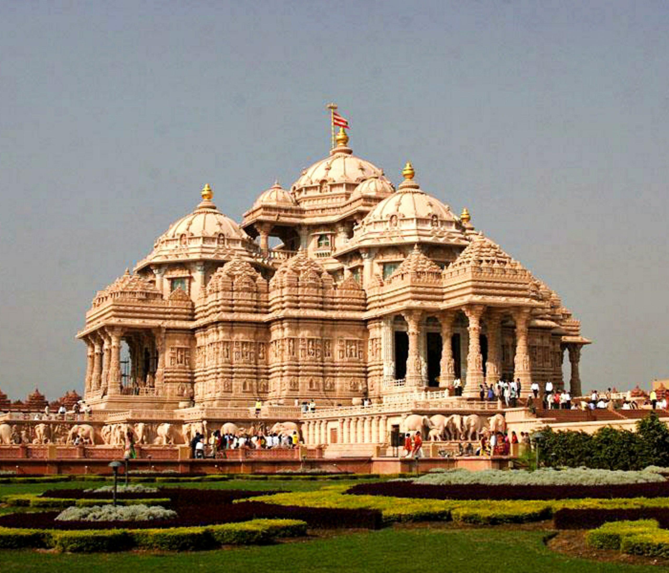 Swaminarayan Akshardham Temple in Delhi