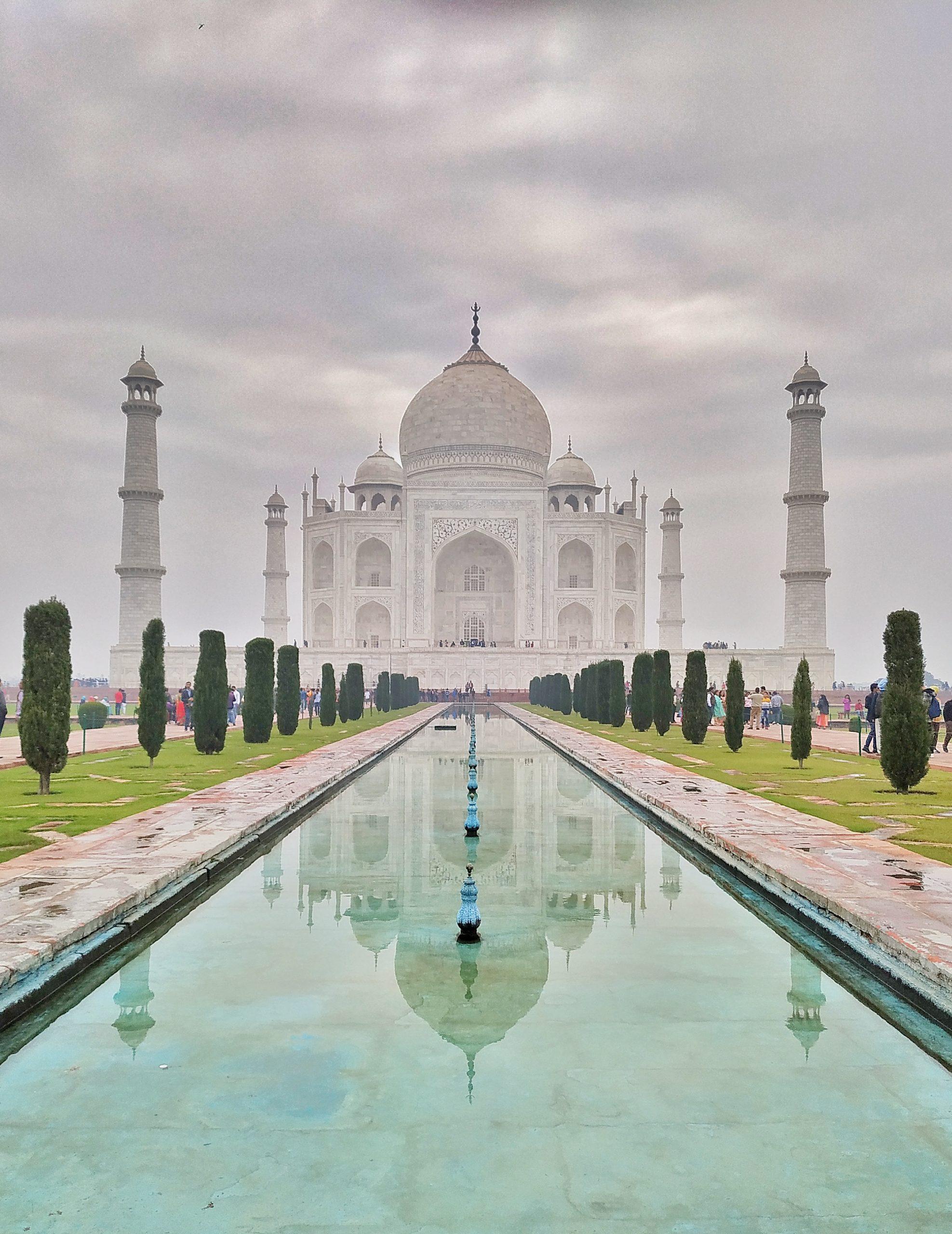 Taj Mahal Garden Agra, India
