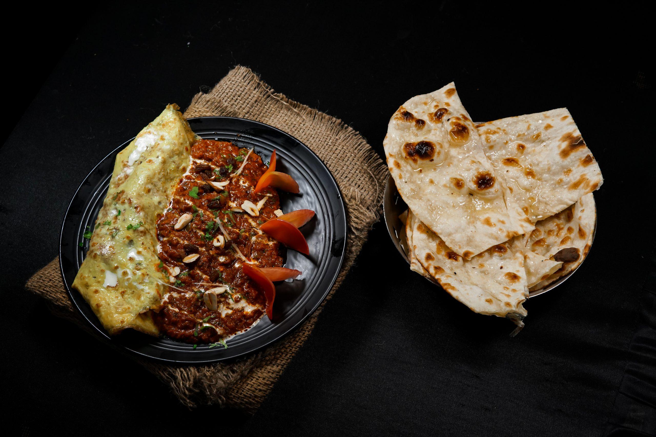 Tandoori Roti with Masala Vegetables