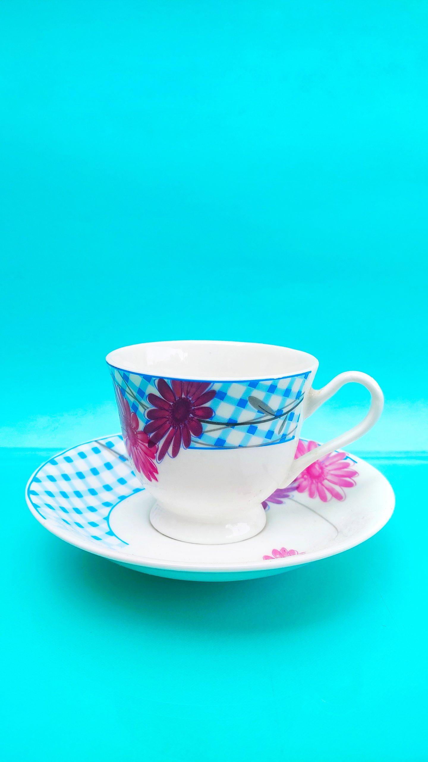 Tea Cup plate