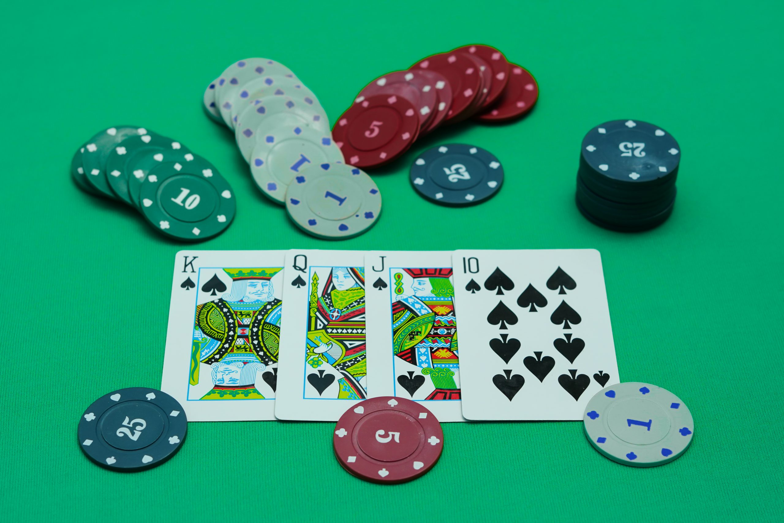 Teen Patti Cards and Chips