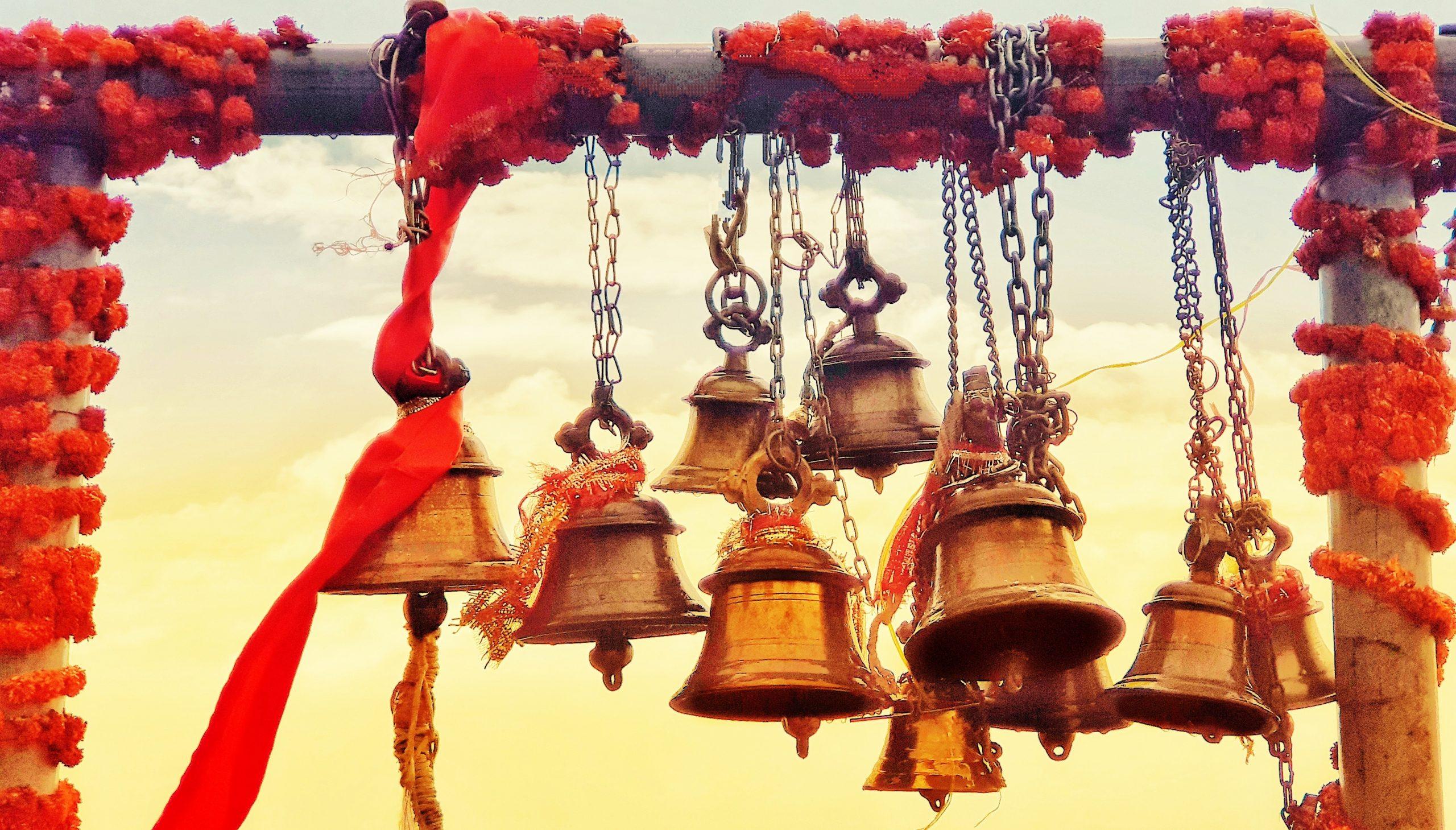 Temple bells Hanging