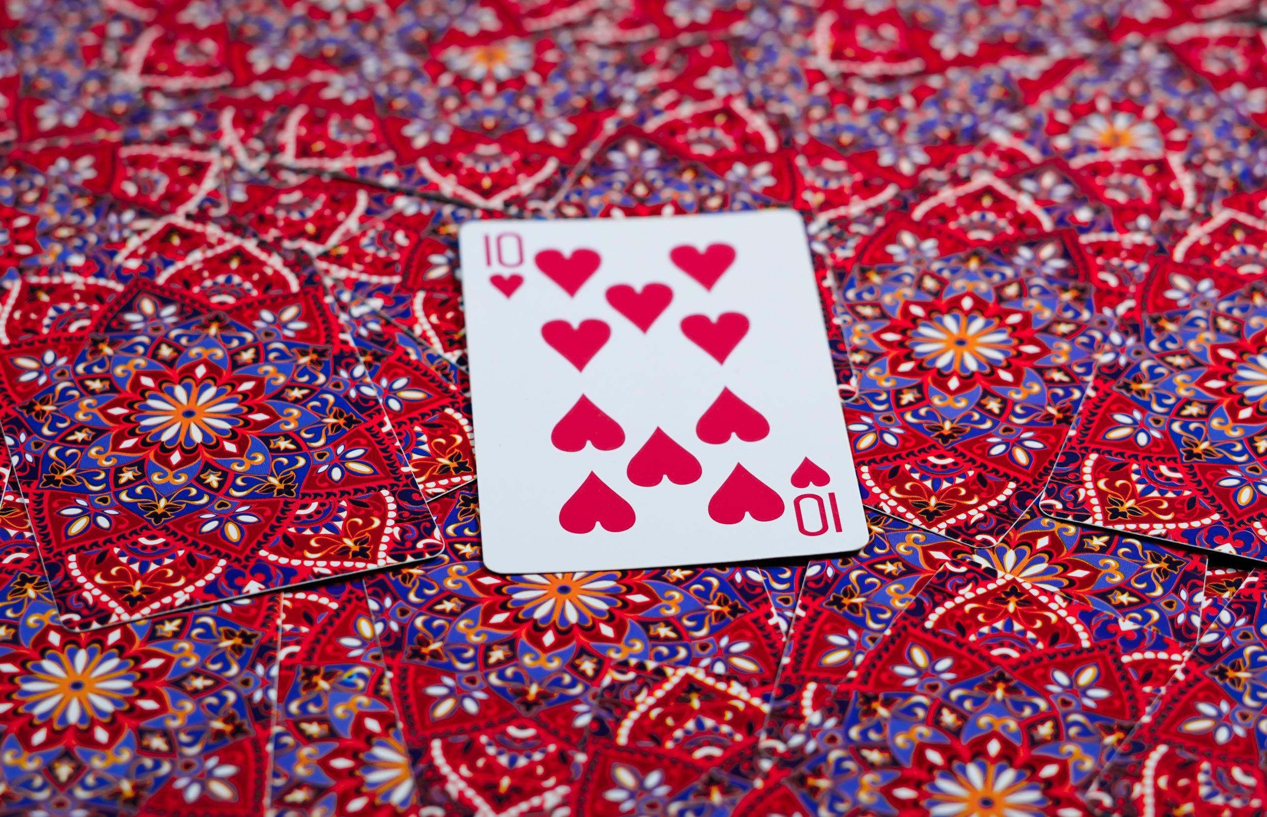 Ten of hearts.