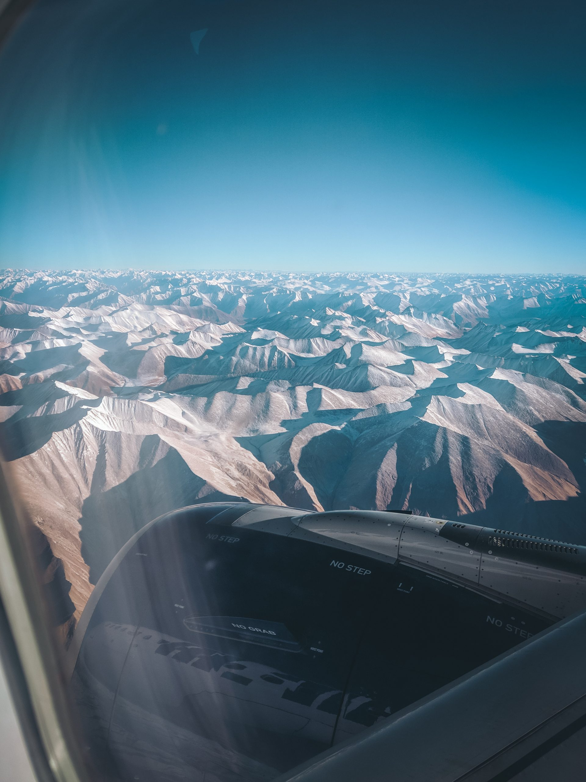 Aerial Photography of Himalayas