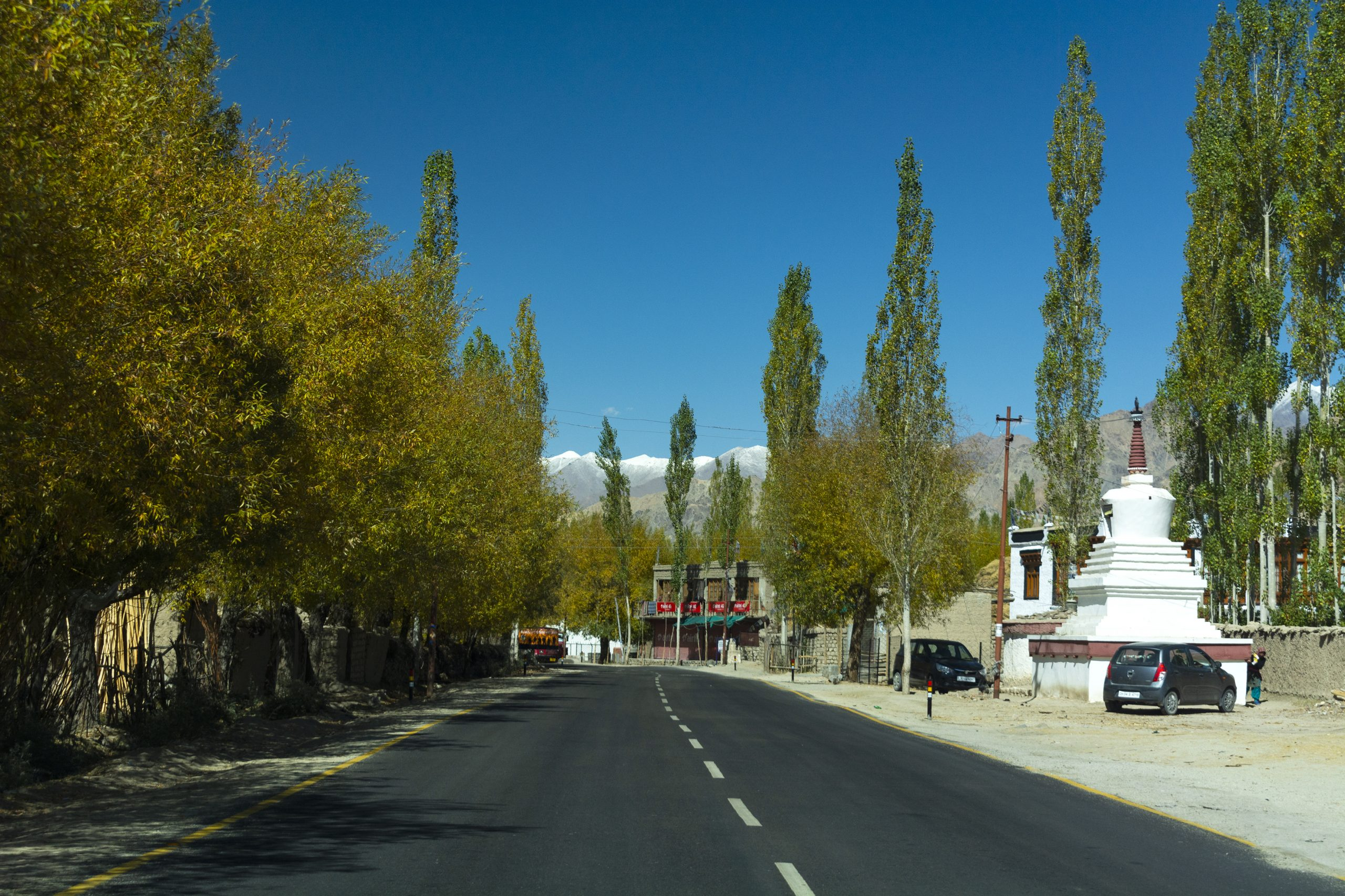 emoty road