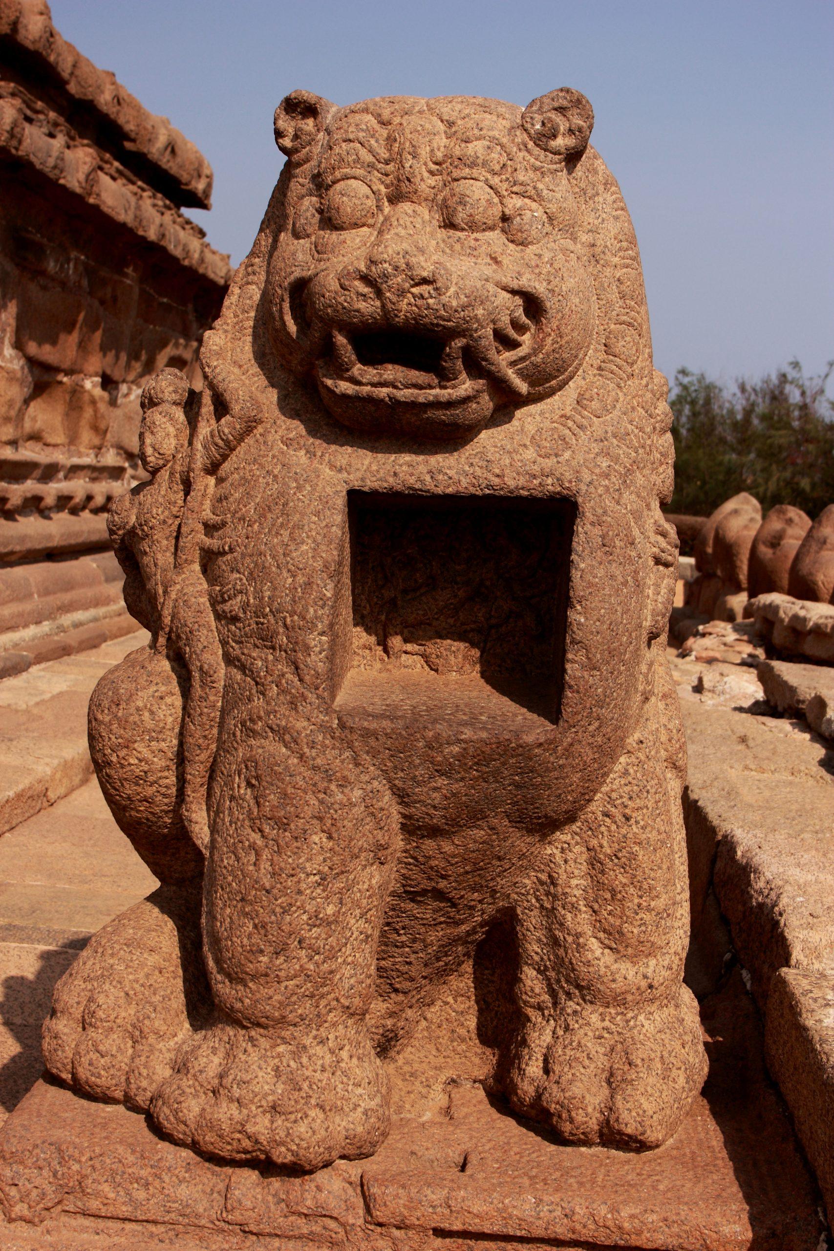 The Lion of Mahabalipuram