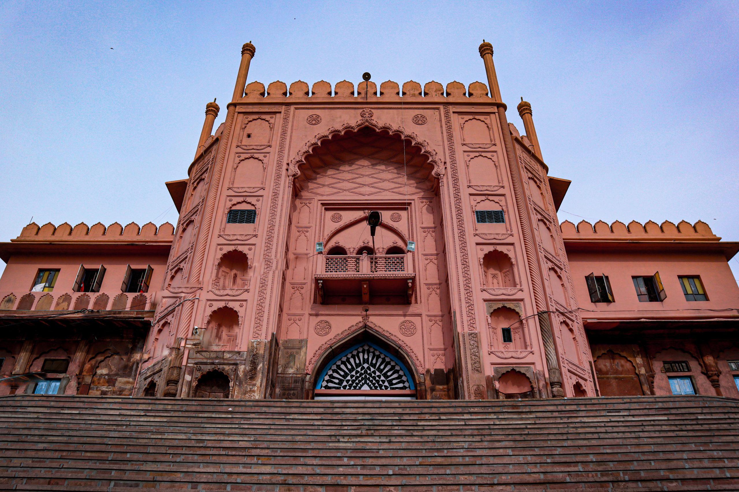 Tāj-ul-Masjid Facade