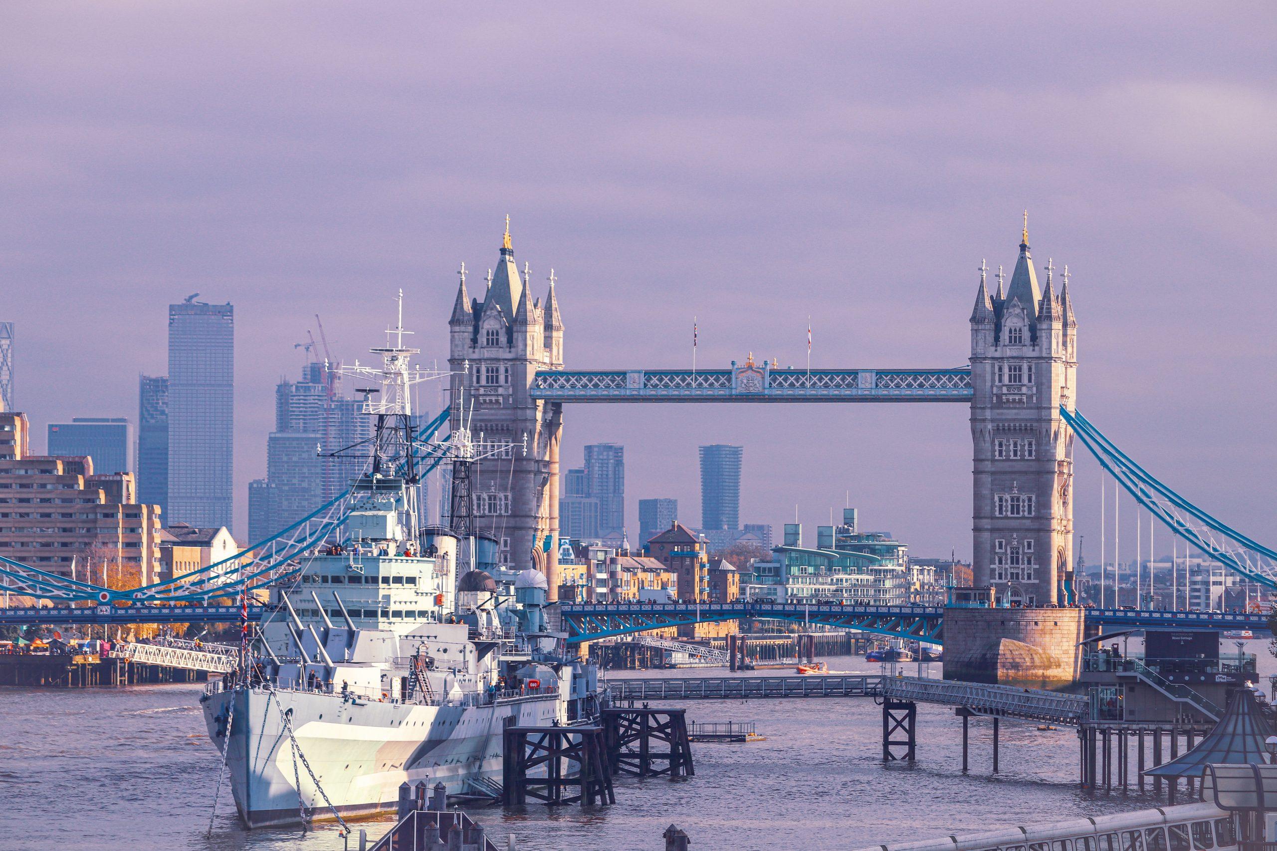 Tower Bridge in the United Kingdom