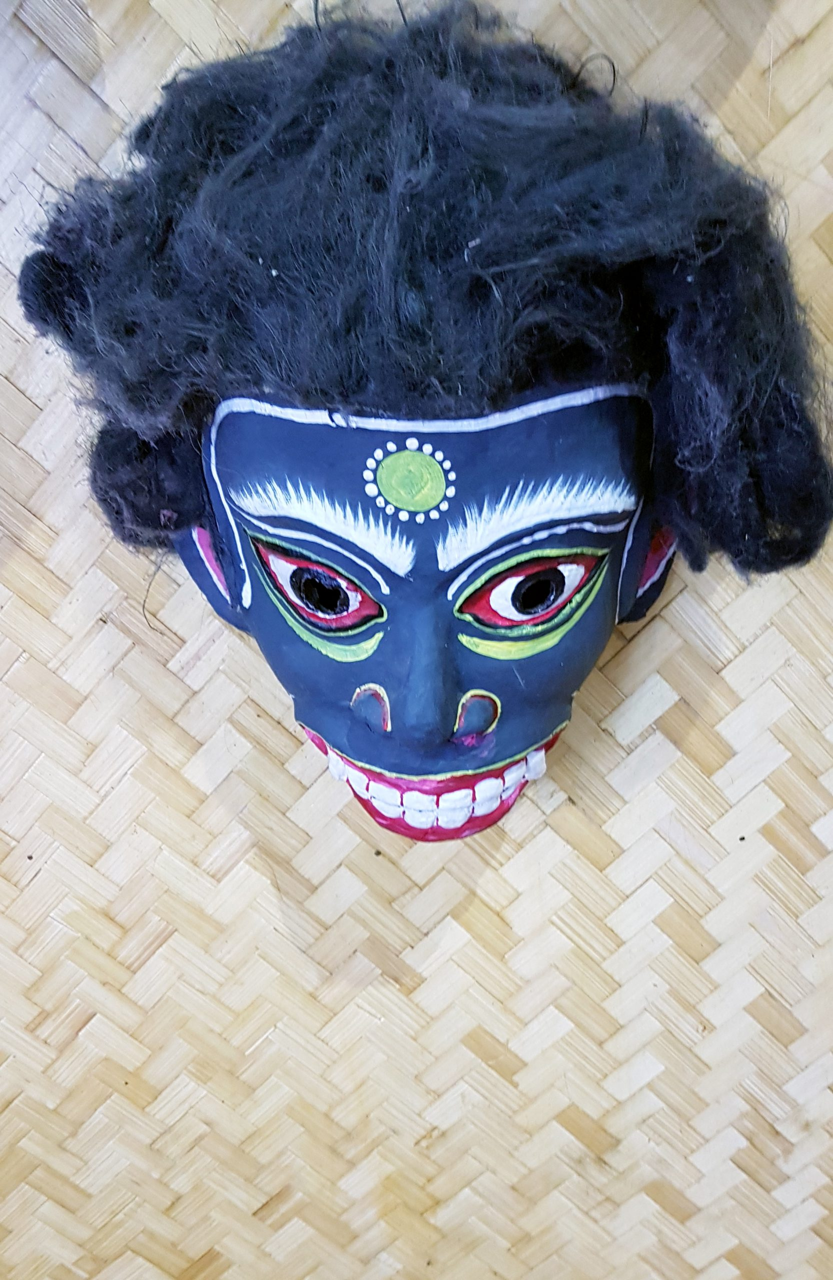 Traditional face mask