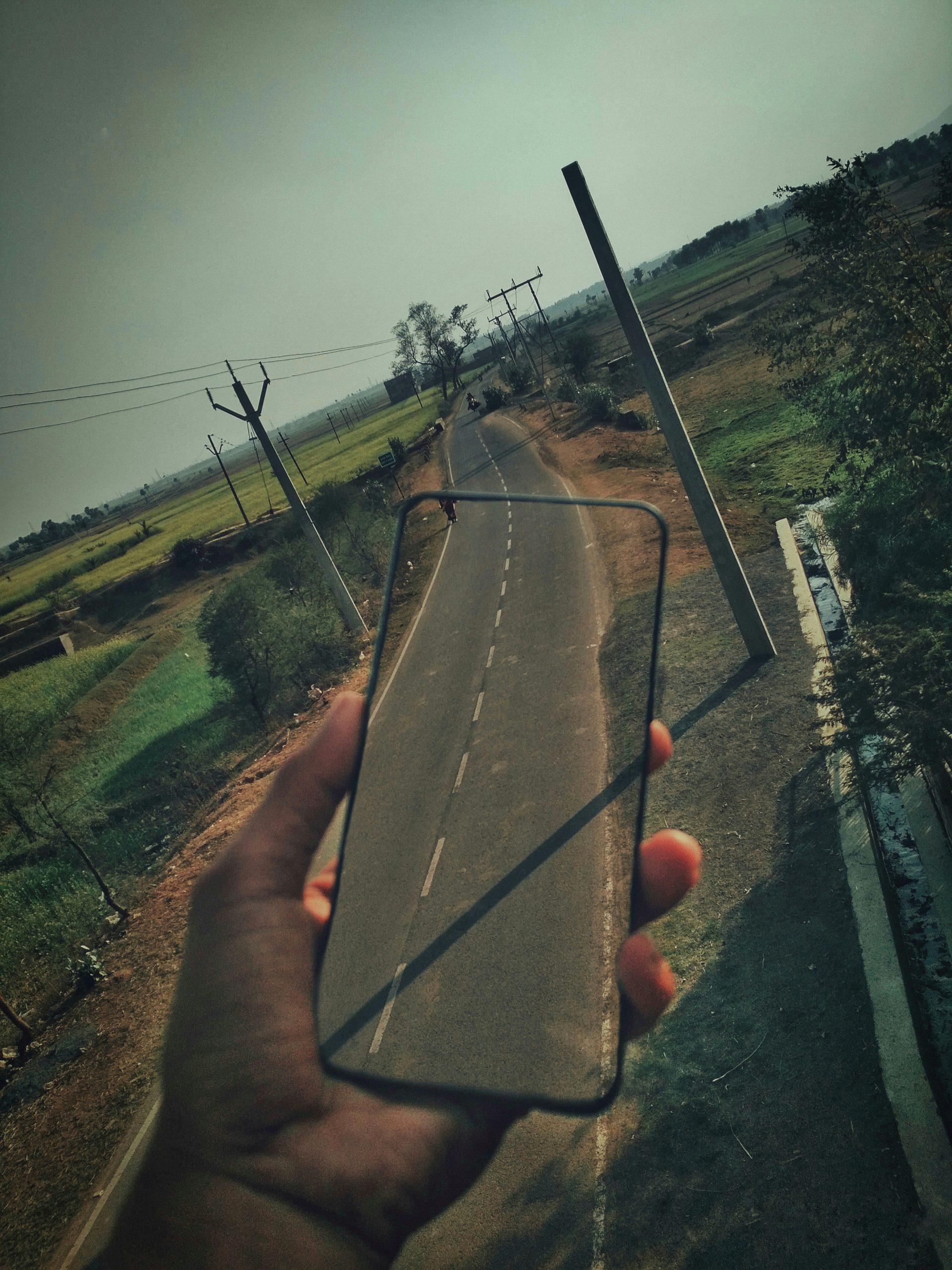 Transparent Phone In Hand
