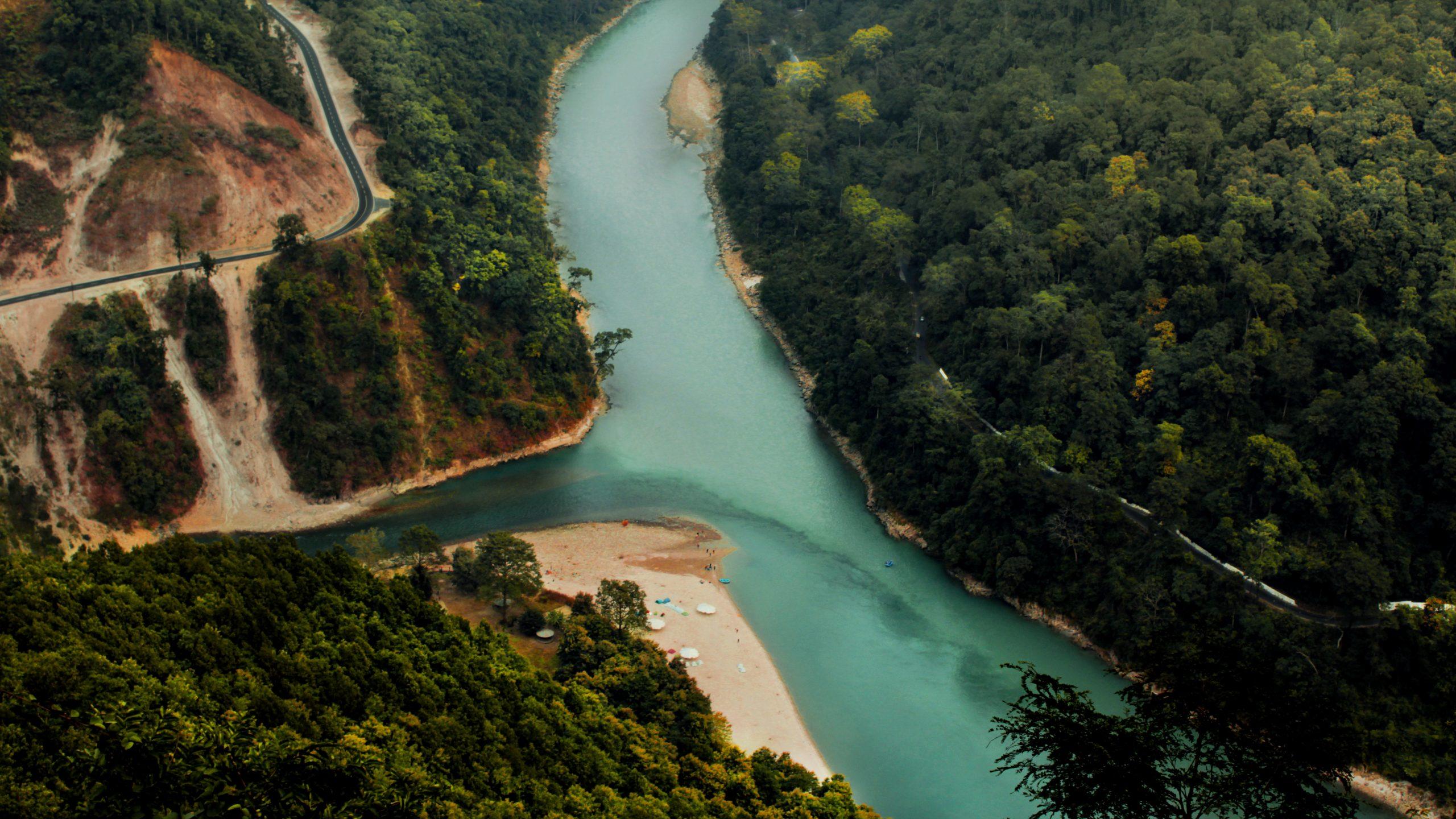 Triveni - River Teesta and Rangeet Confluence