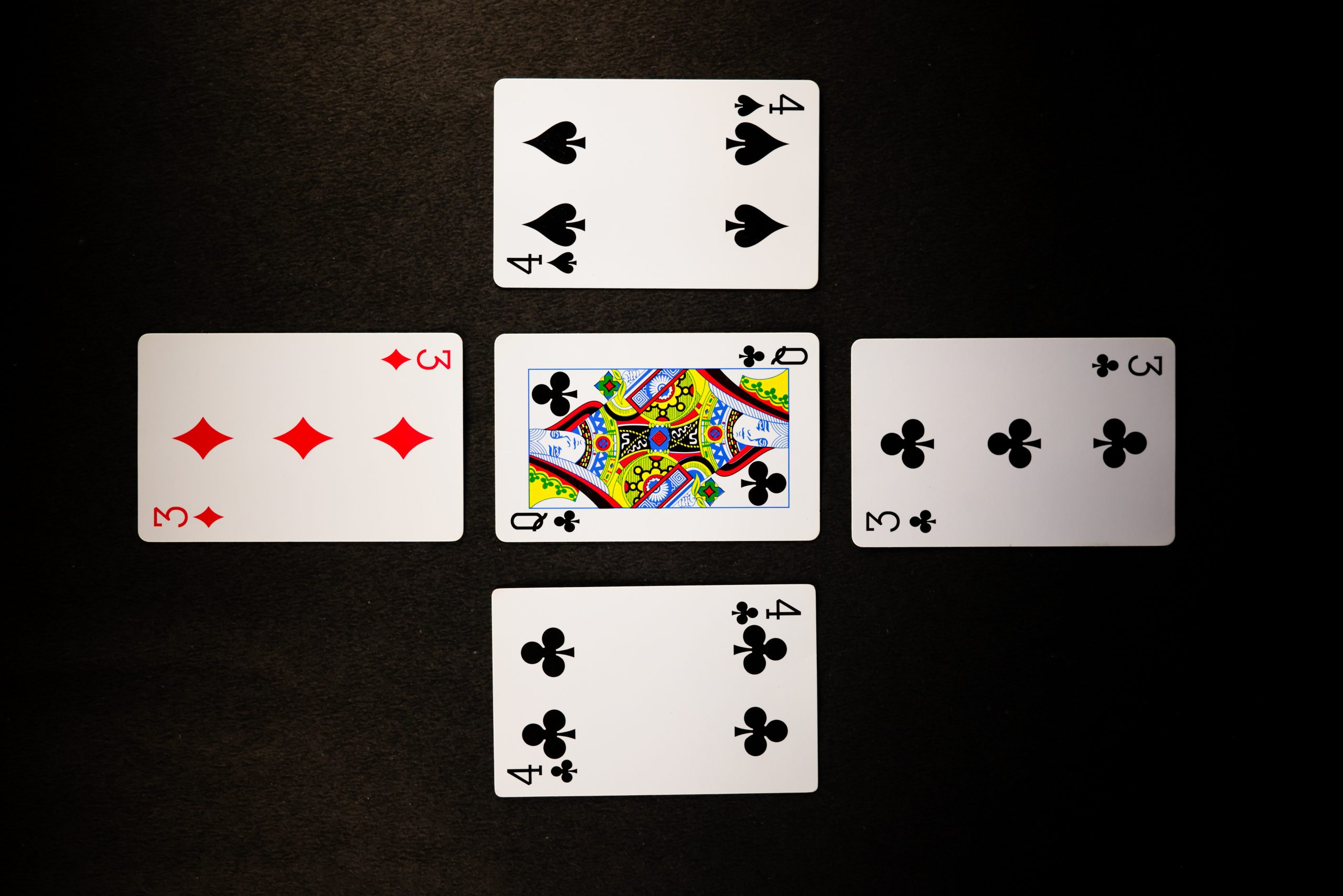 Two Pair of Cards
