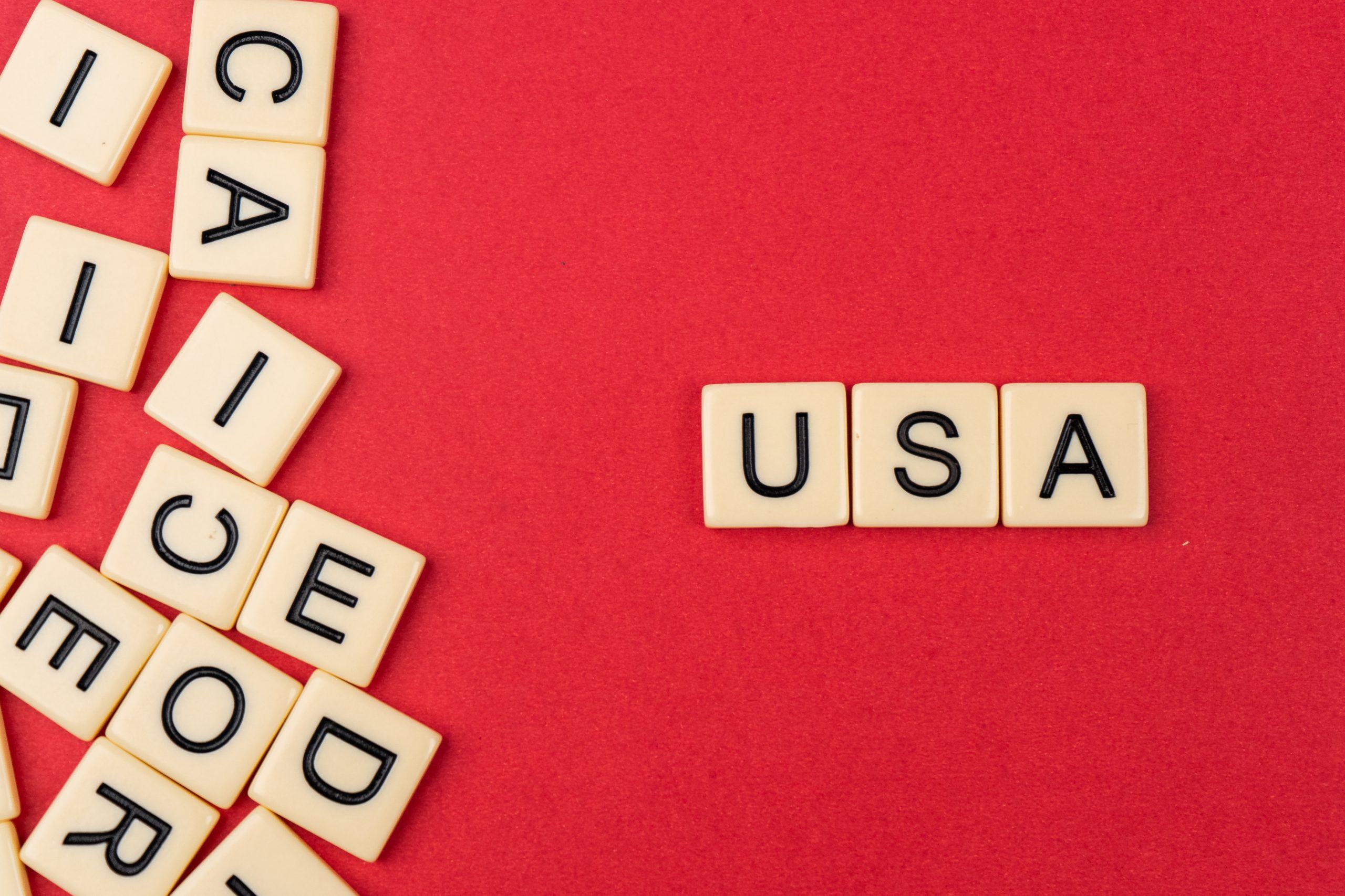 USA written