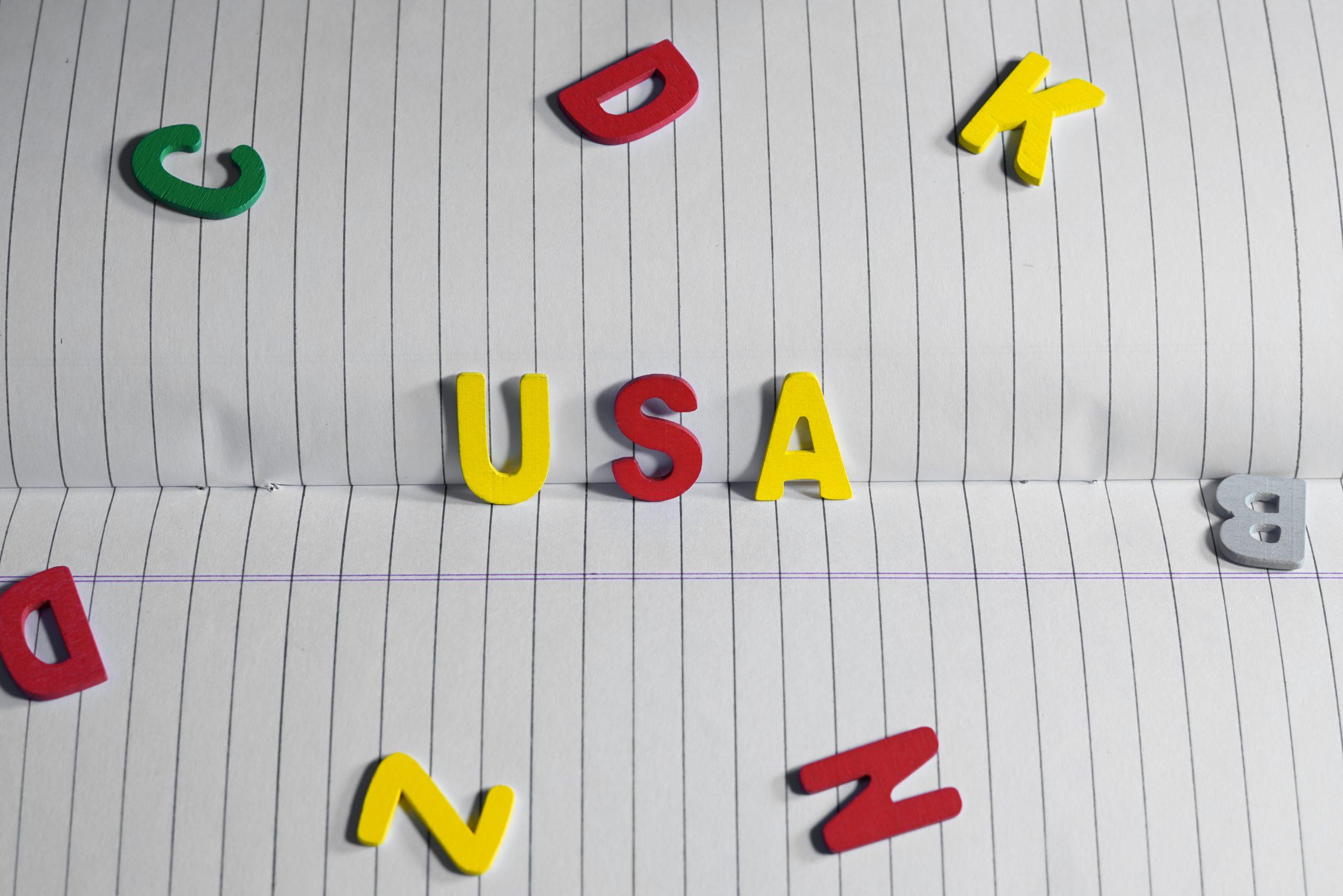 USA written with symbol keys