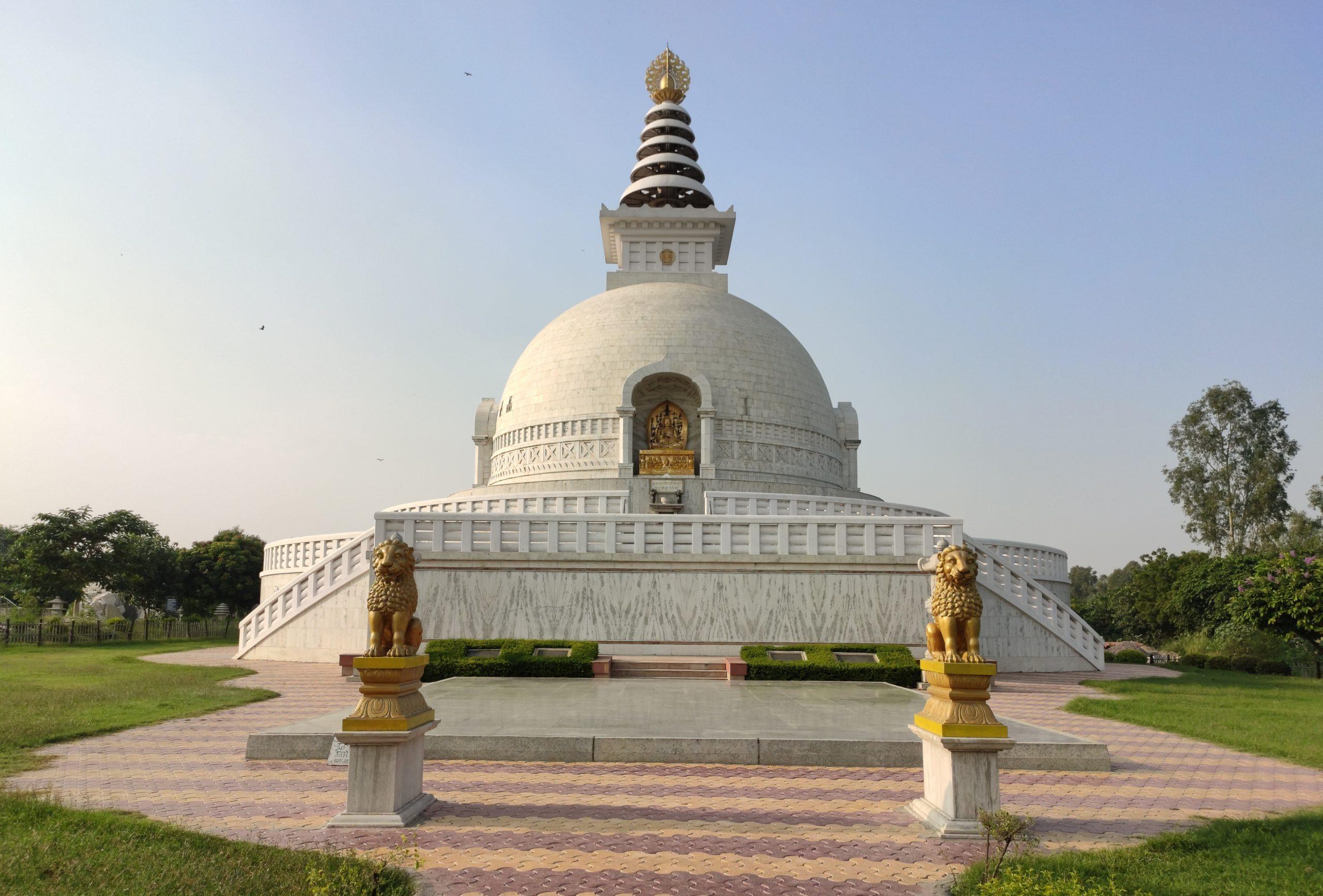 Shanti Stupa temple Delhi
