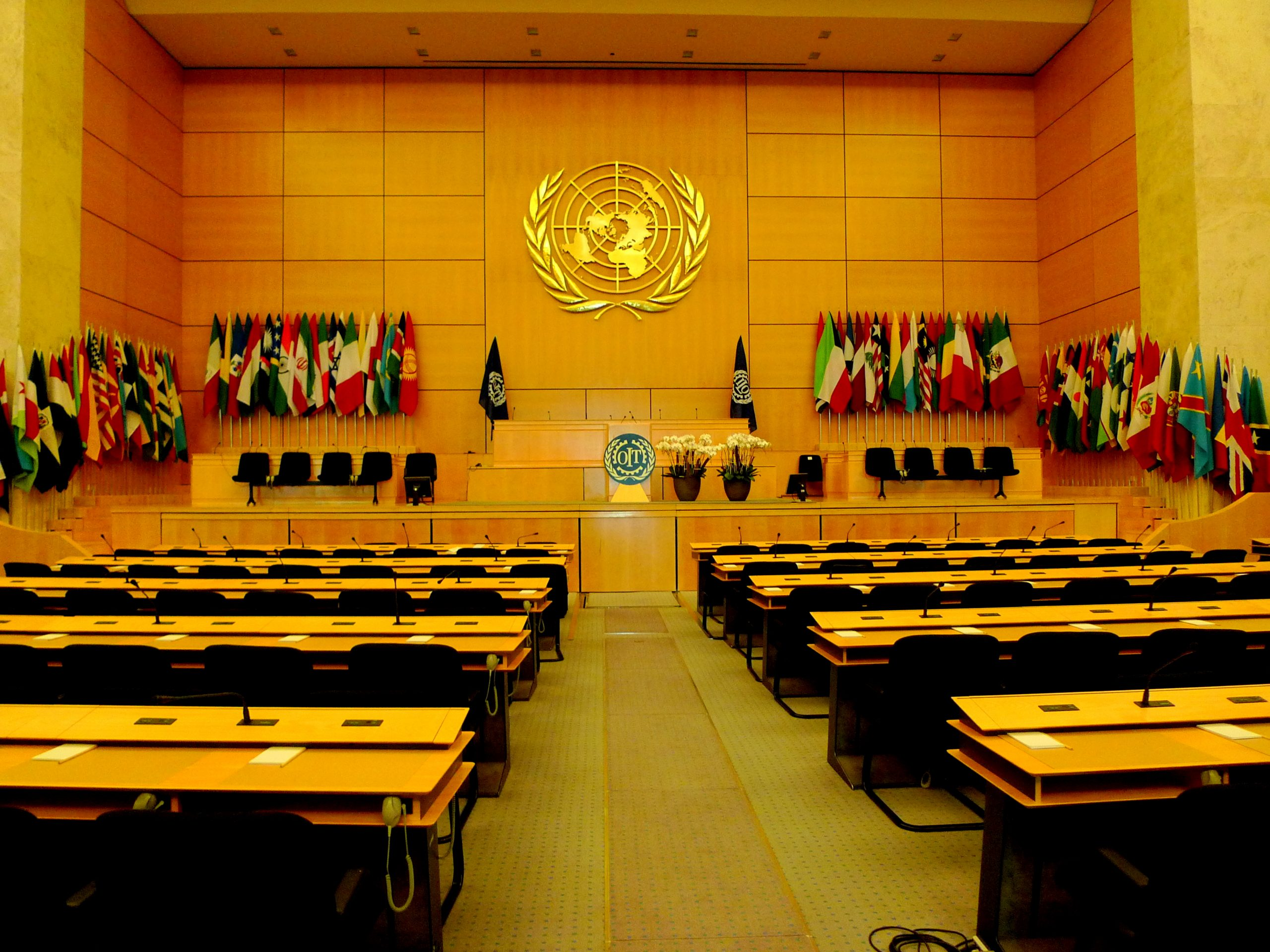 United Nations Meeting Room