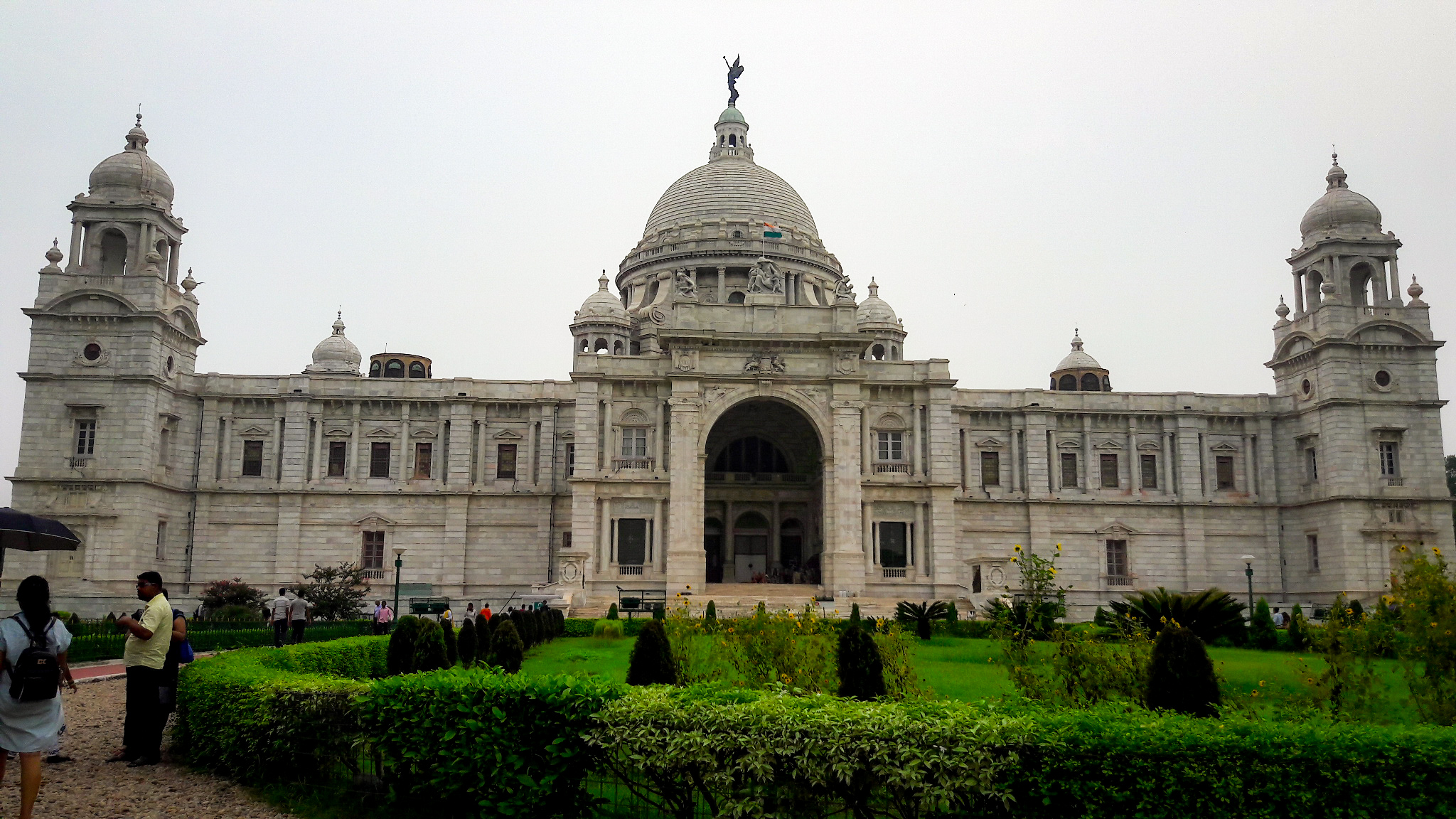 Victoria Memorial in Kolkata, West Bengal