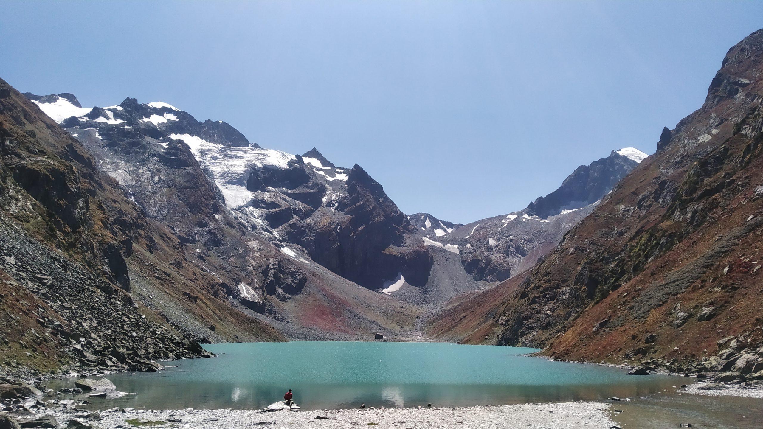 View of Sonsar Lake in Kashmir
