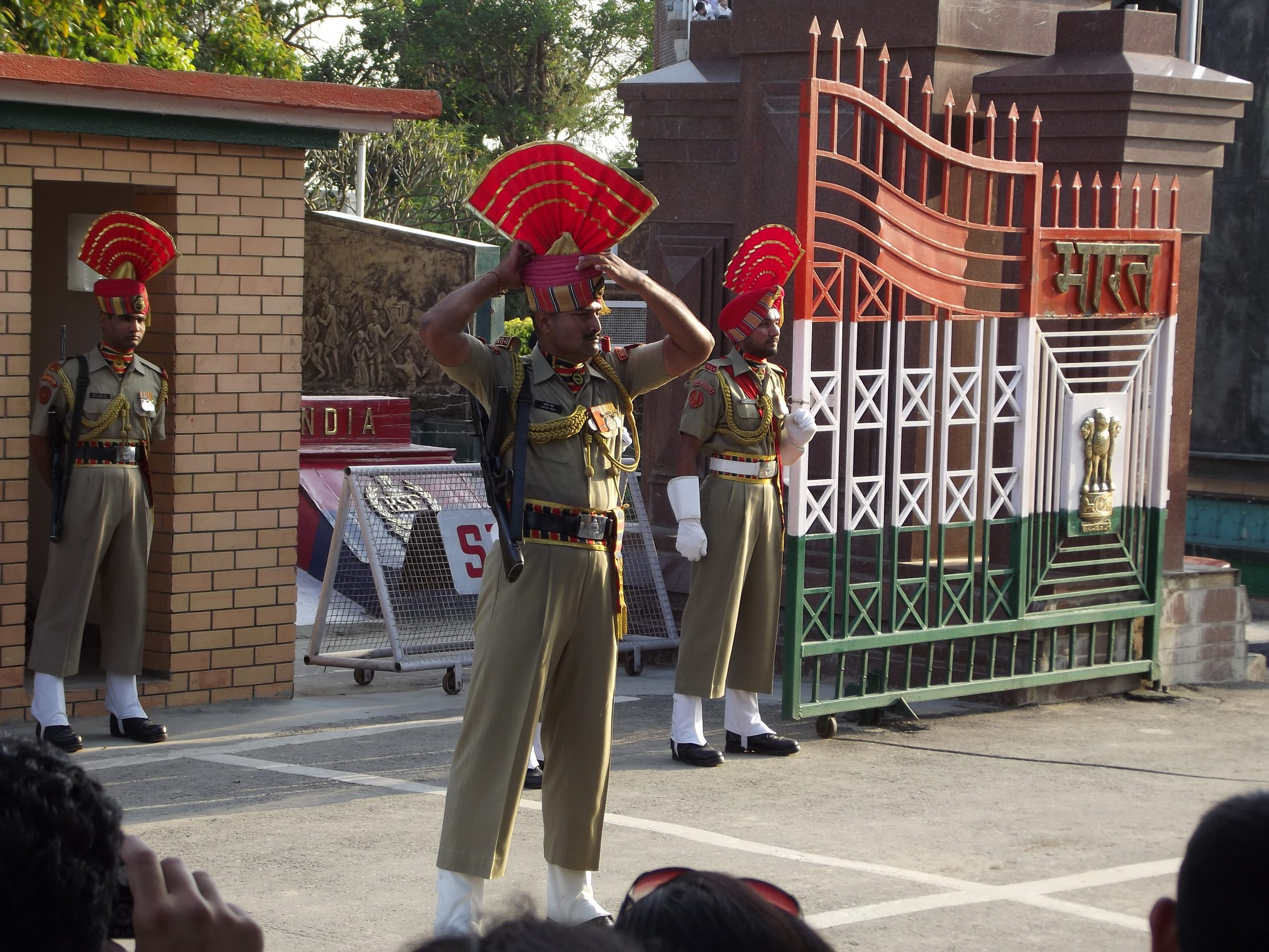 Wagah Border Officers