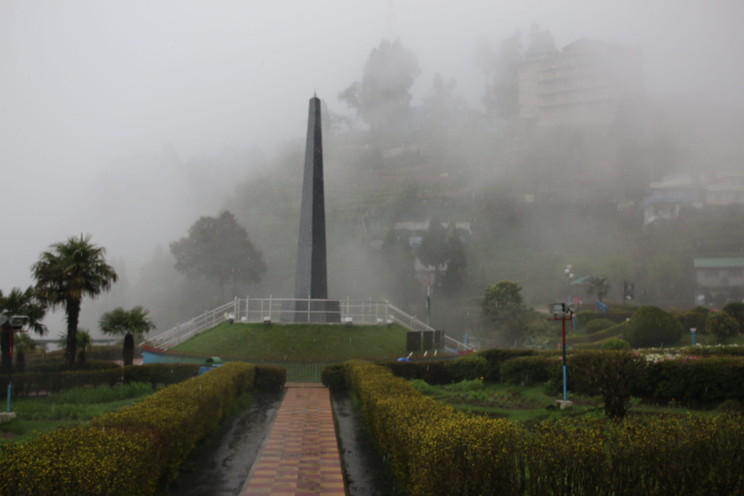 cloudy day at war memorial