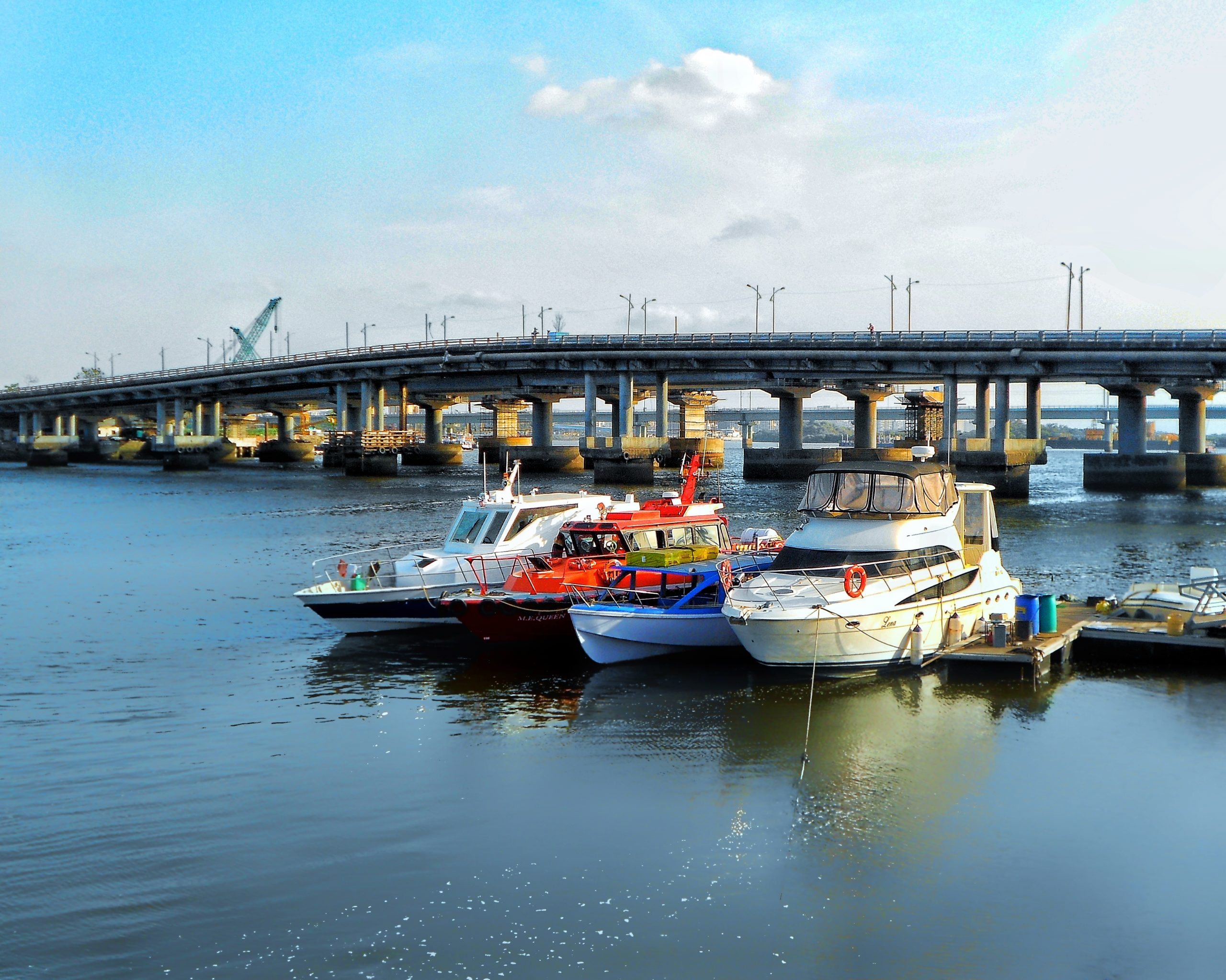 Watercraft and a Bridge