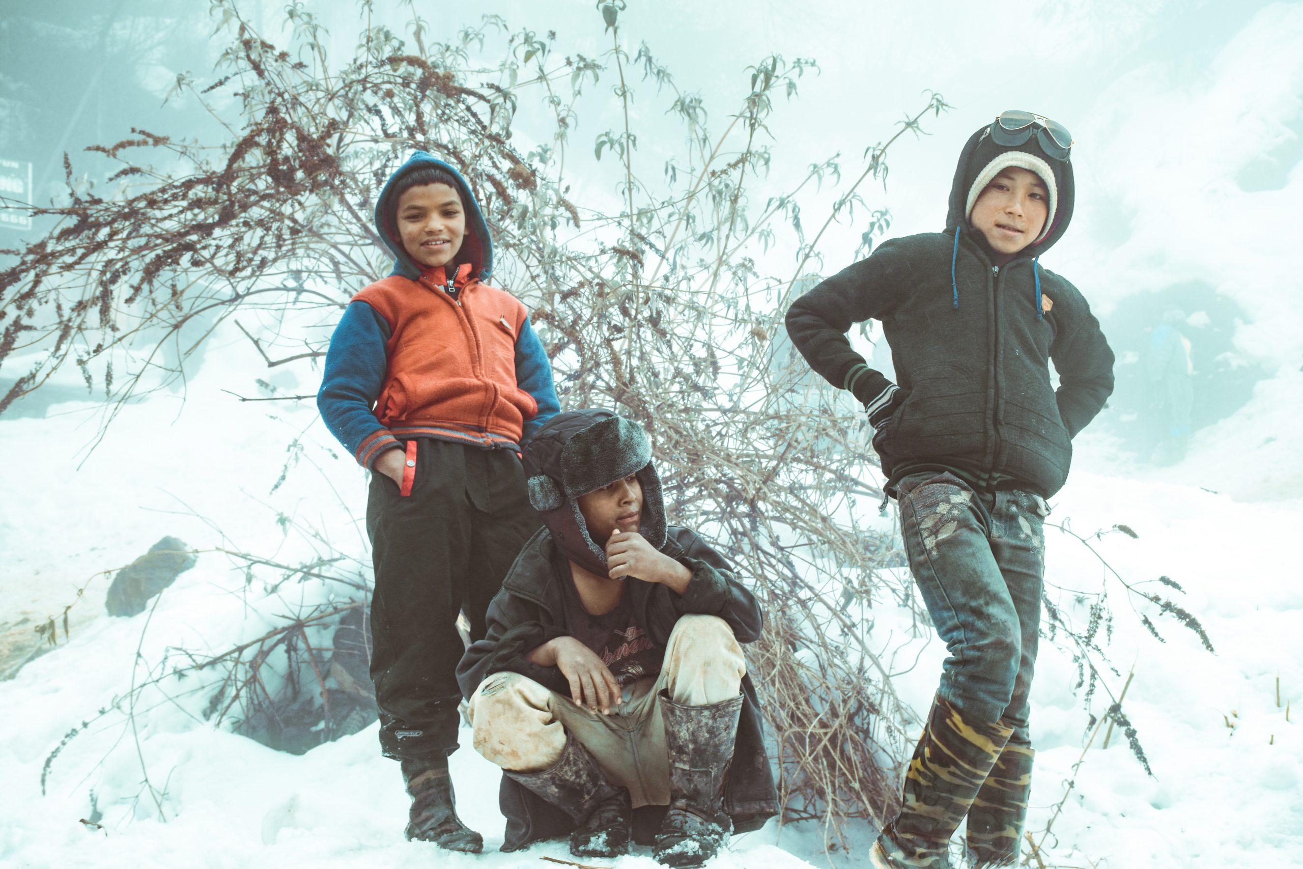 Children of the hills.