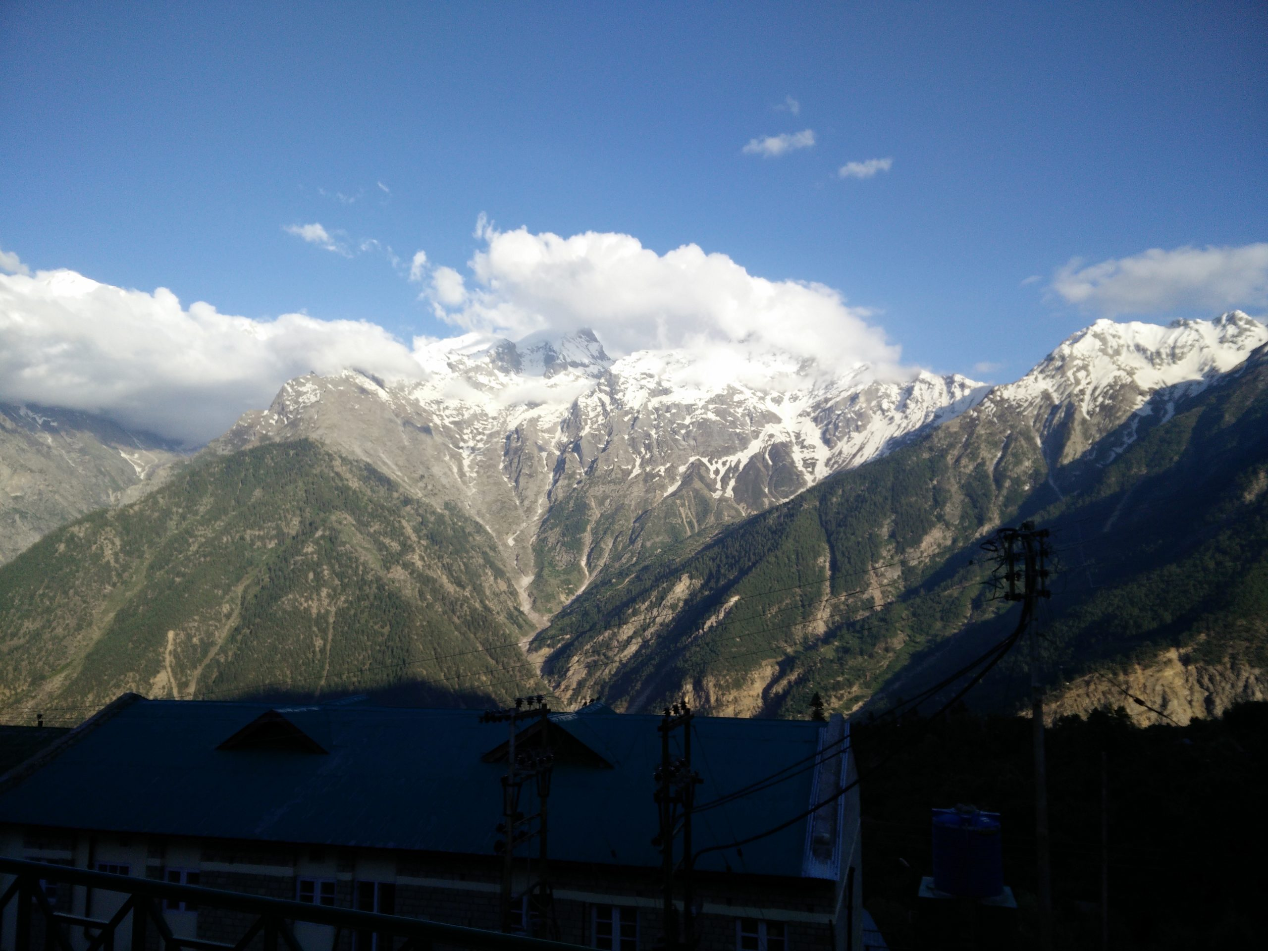 Serene mountains of Kalpa, Kinnaur.