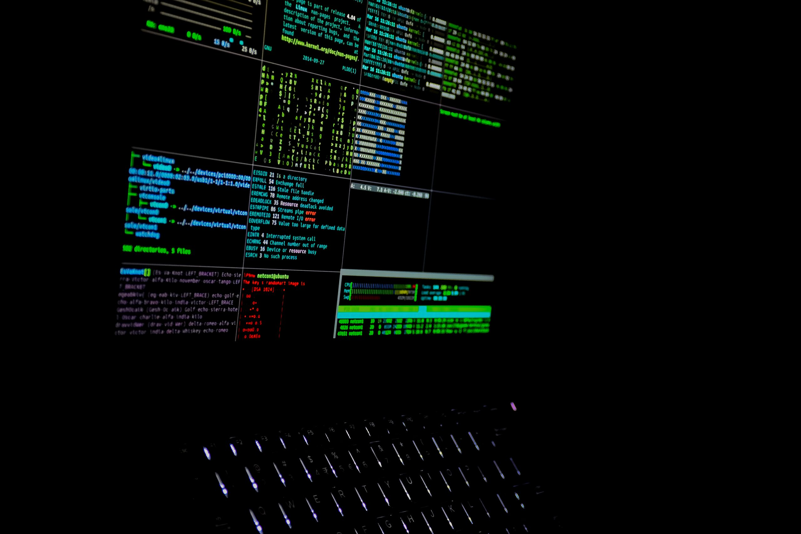 hacking operation performed on PC