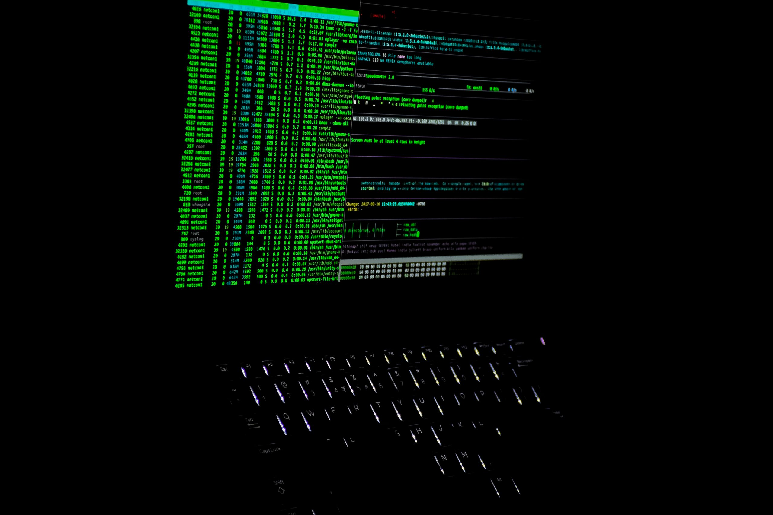 list of hacking codes