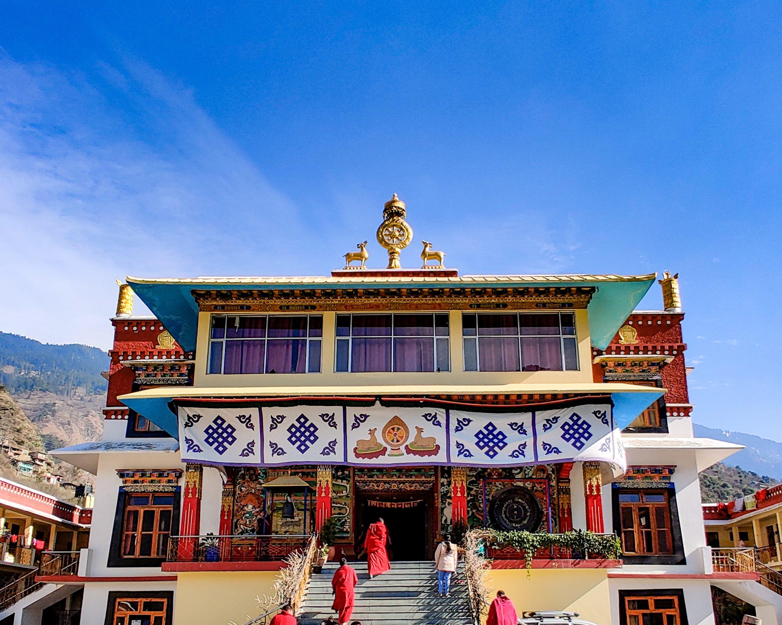Buddhist monastery, Manali.