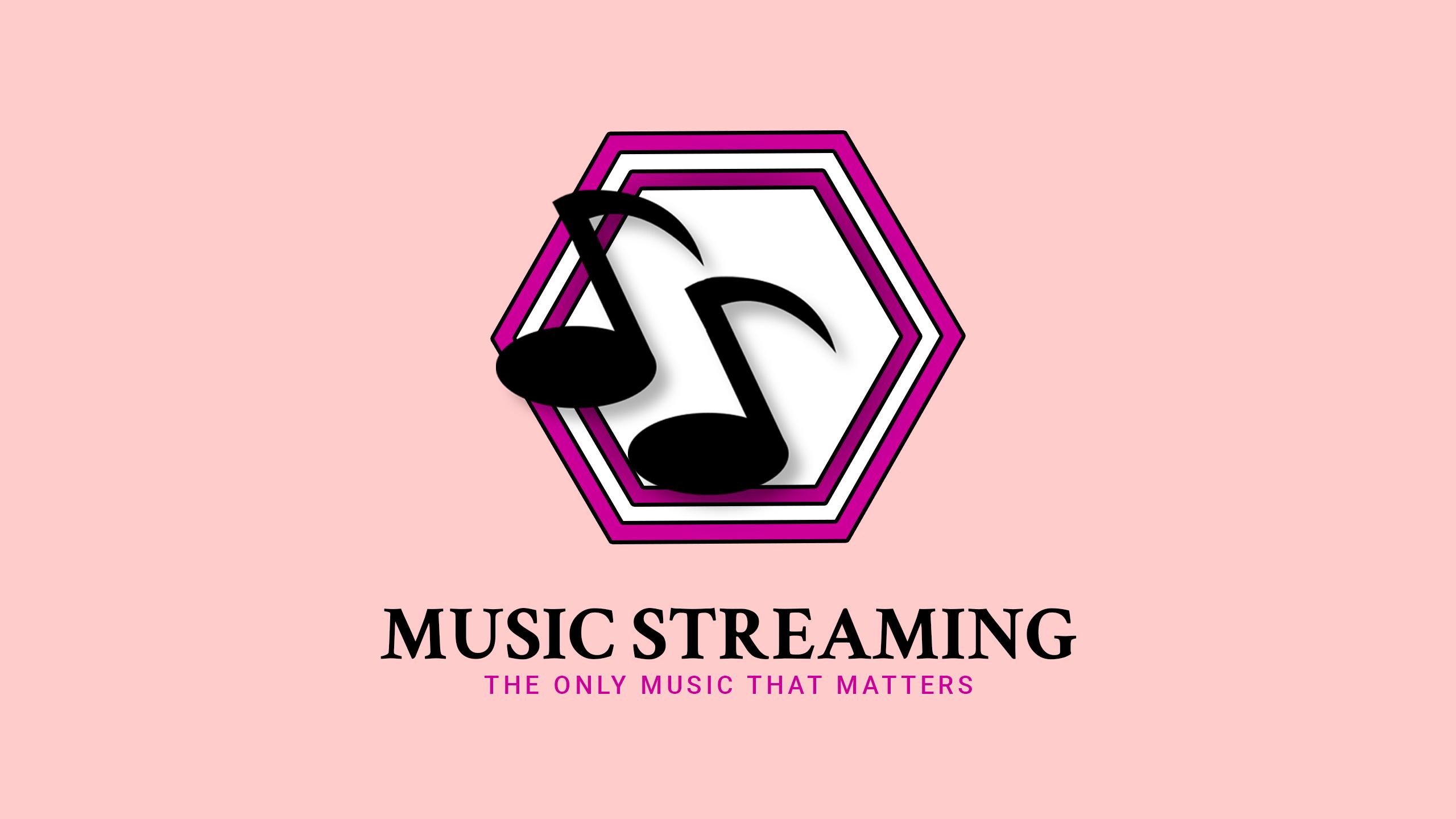 music streaming logo