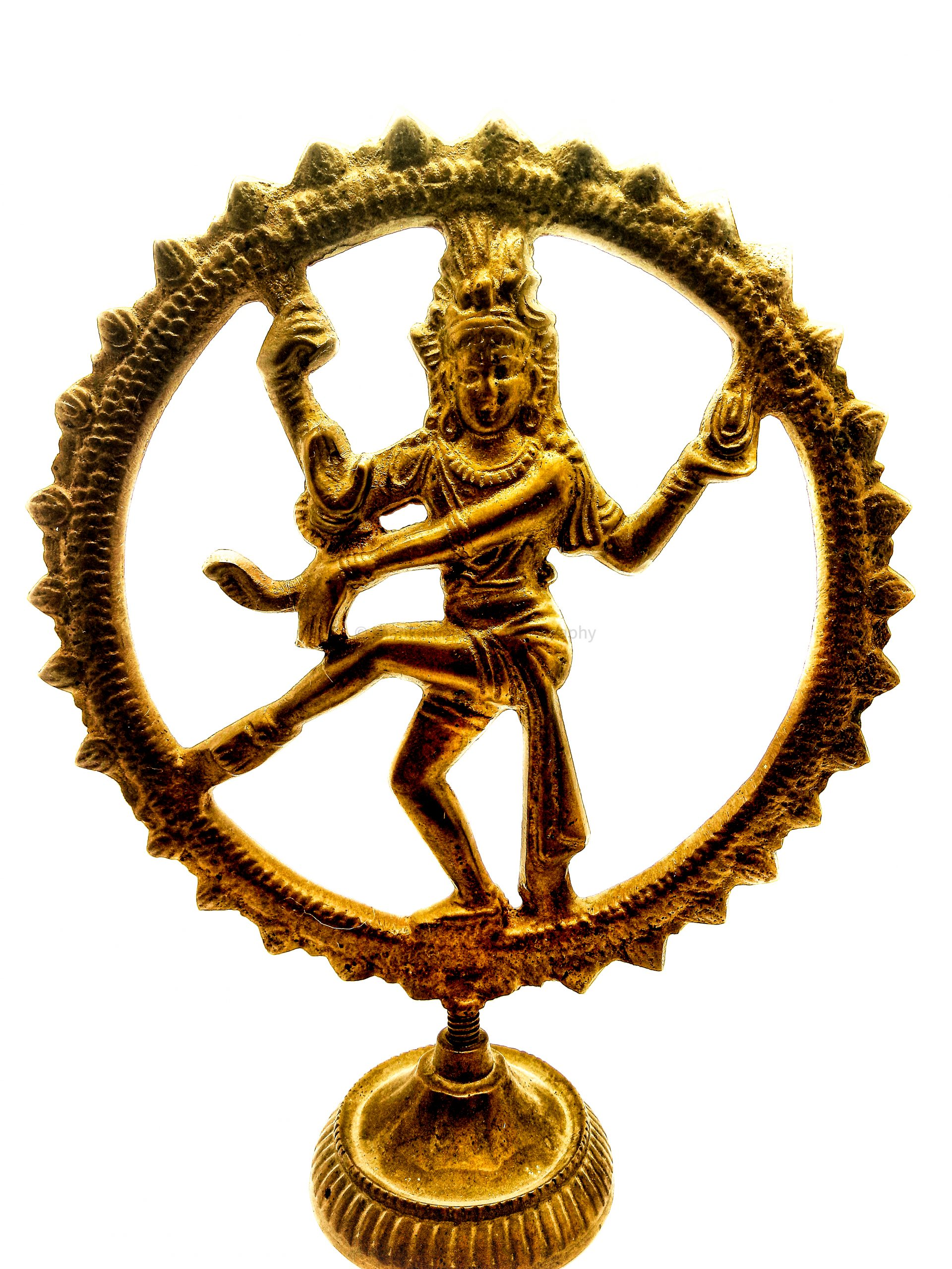 An idol of lord shiva