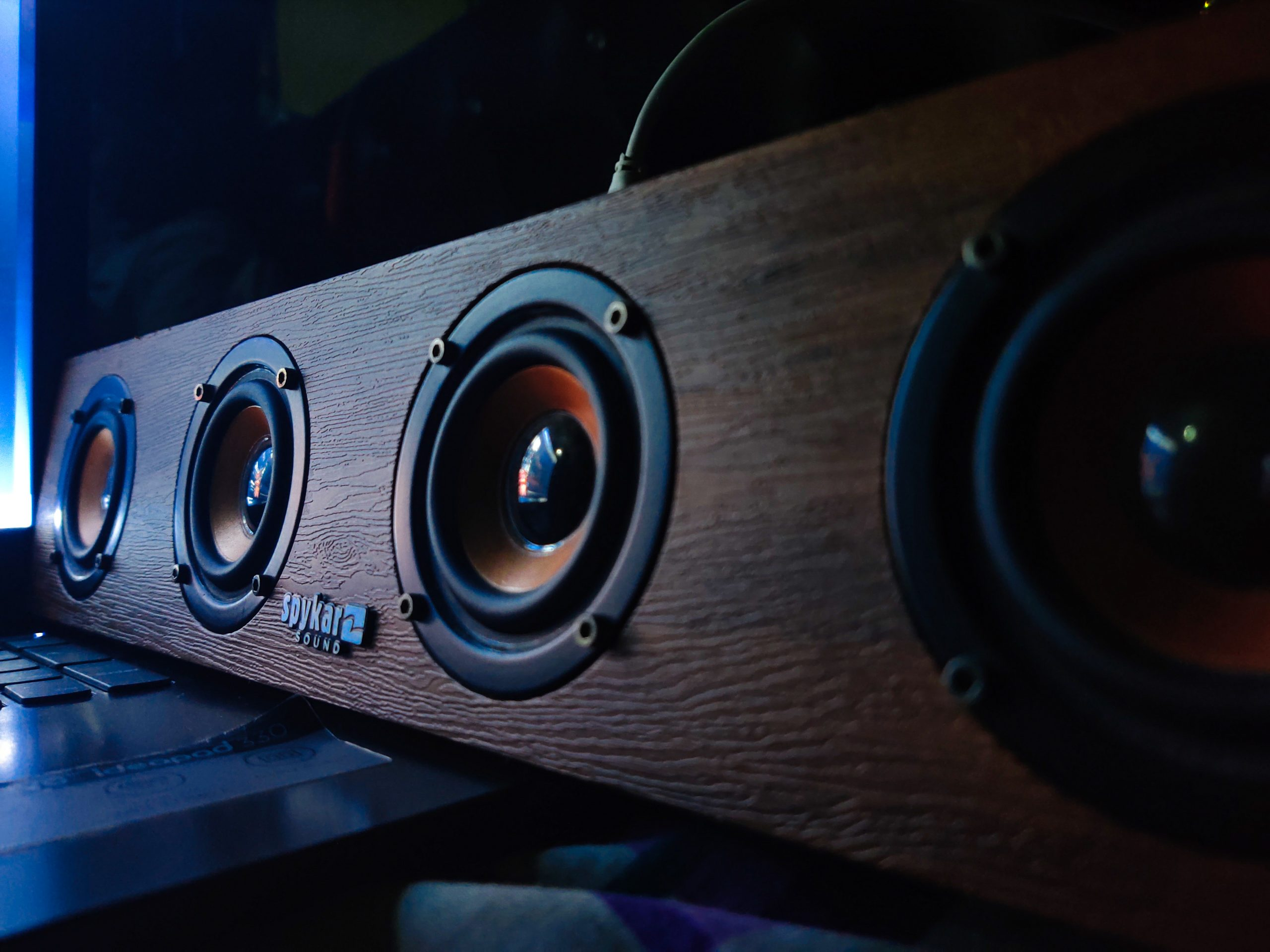 Music from the Loundspeakers