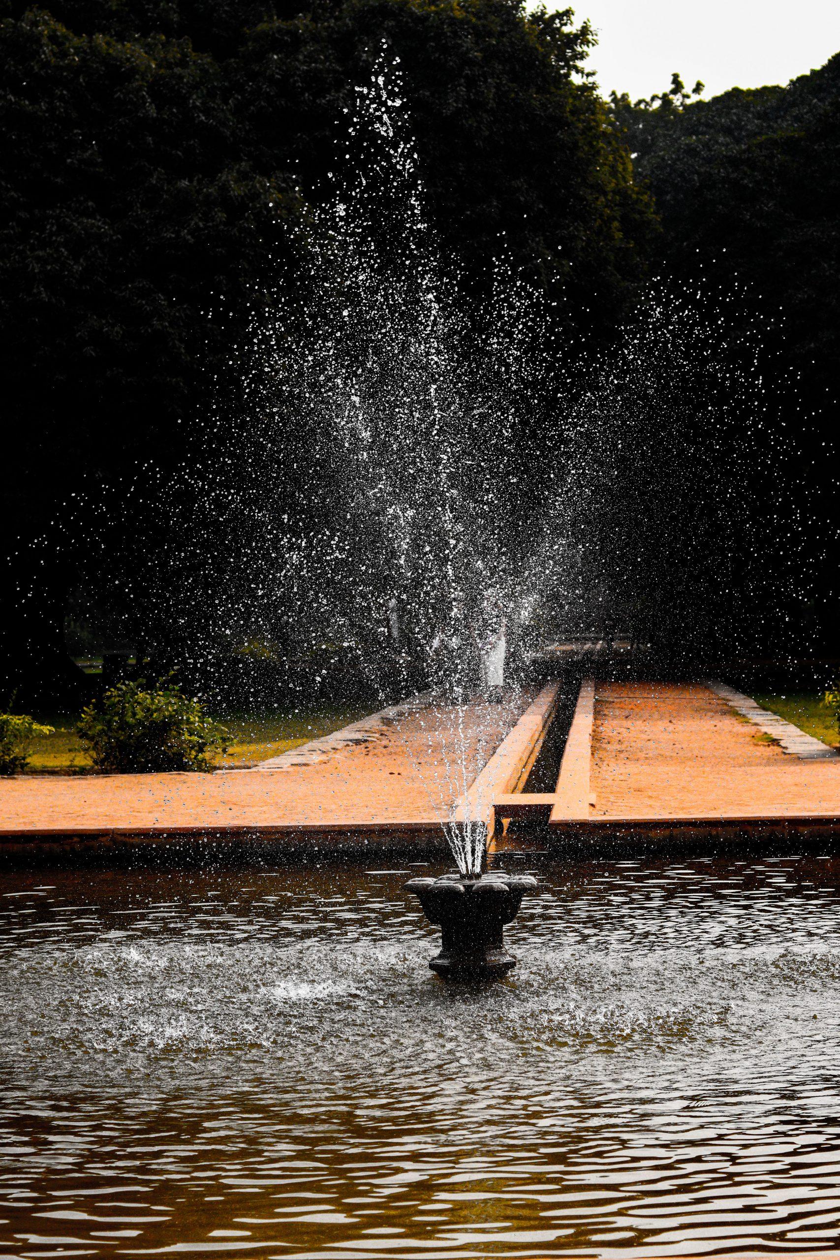 Fountain on Humayun's tomb