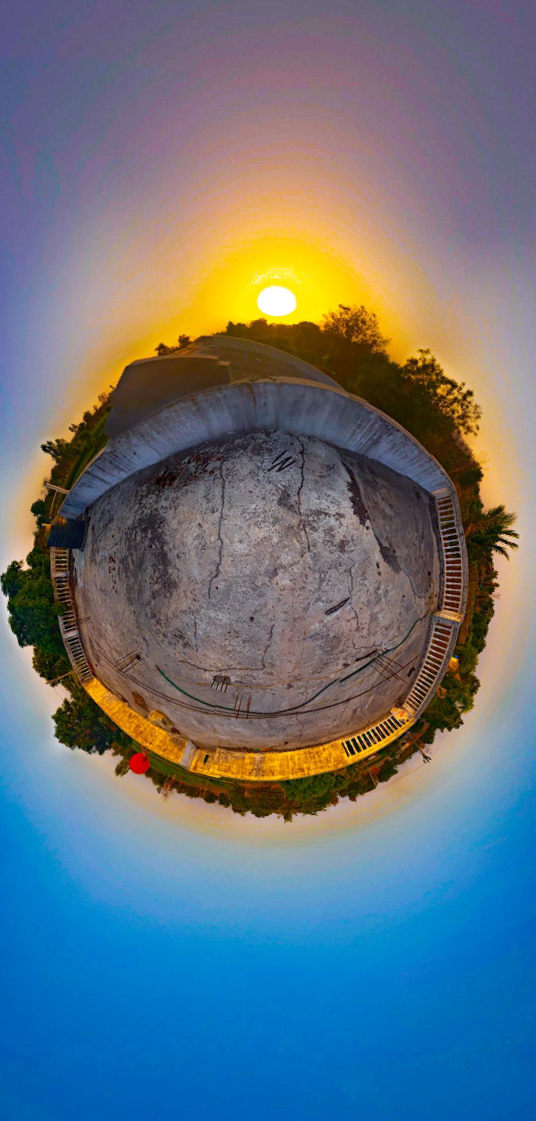360° amazing shot